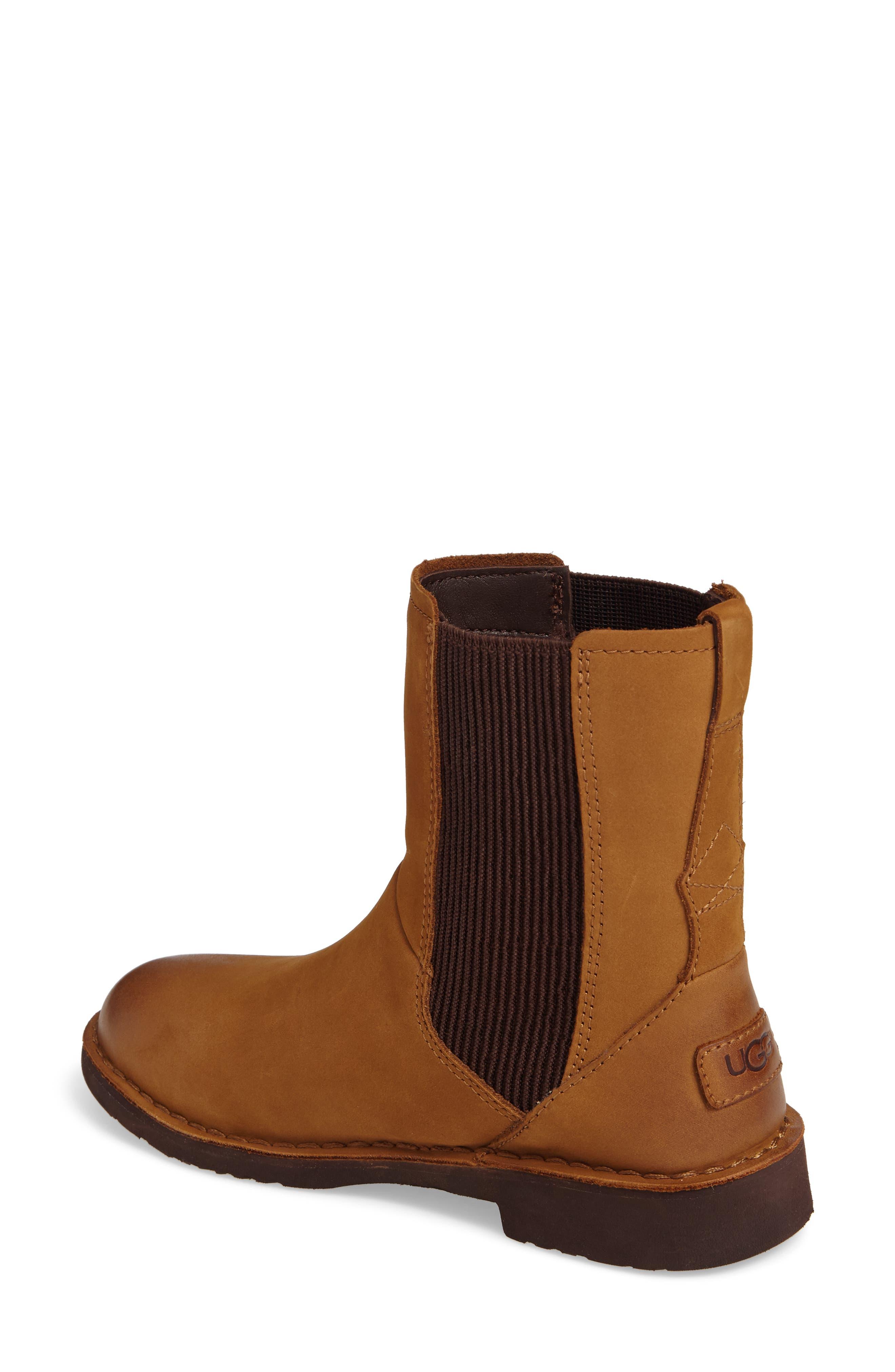Larra Boot,                             Alternate thumbnail 2, color,                             Chestnut Nubuck Leather