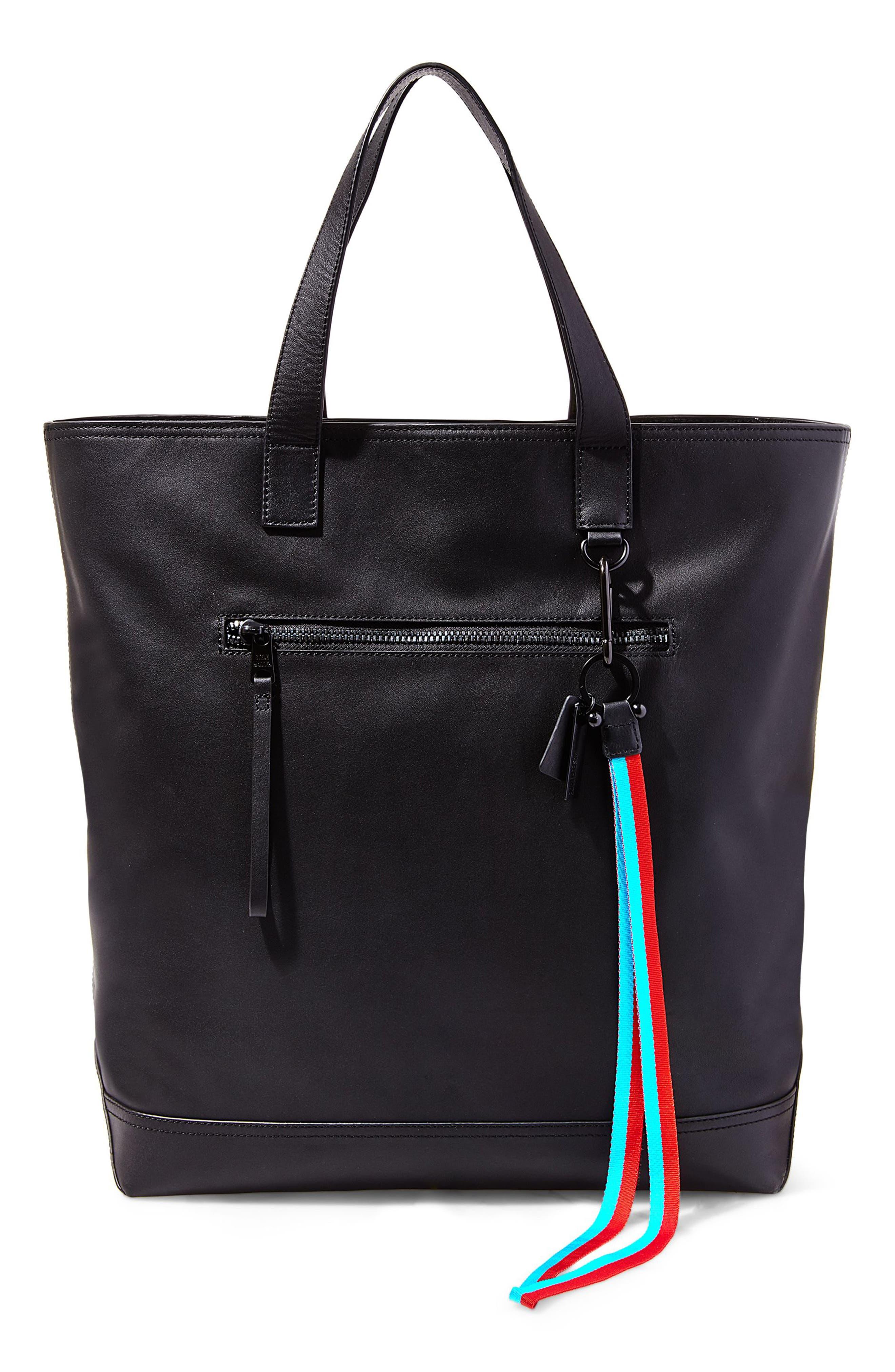 GQ x Steve Madden Leather Tote Bag