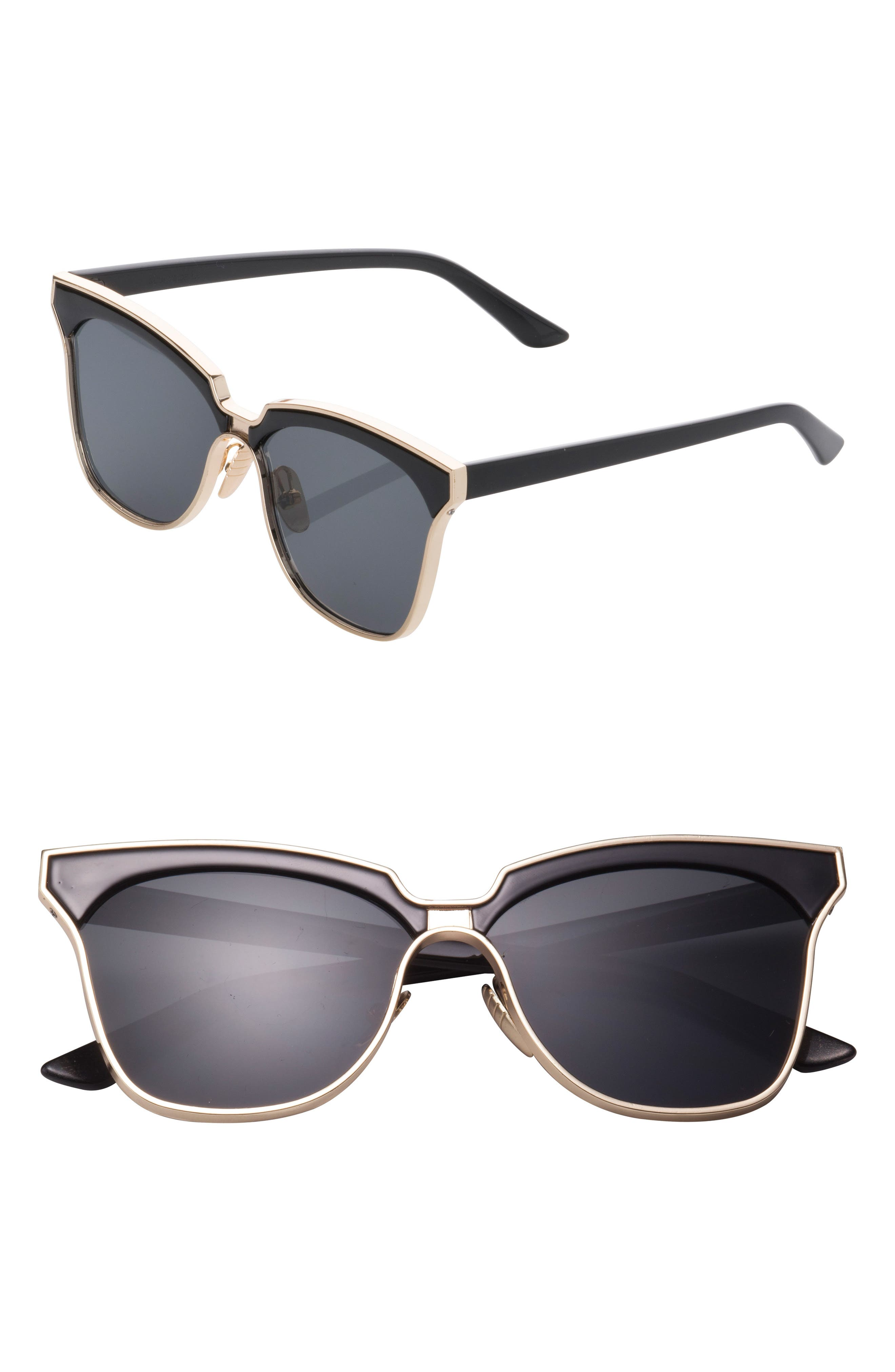 SunnySide LA 61mm Angular Sunglasses