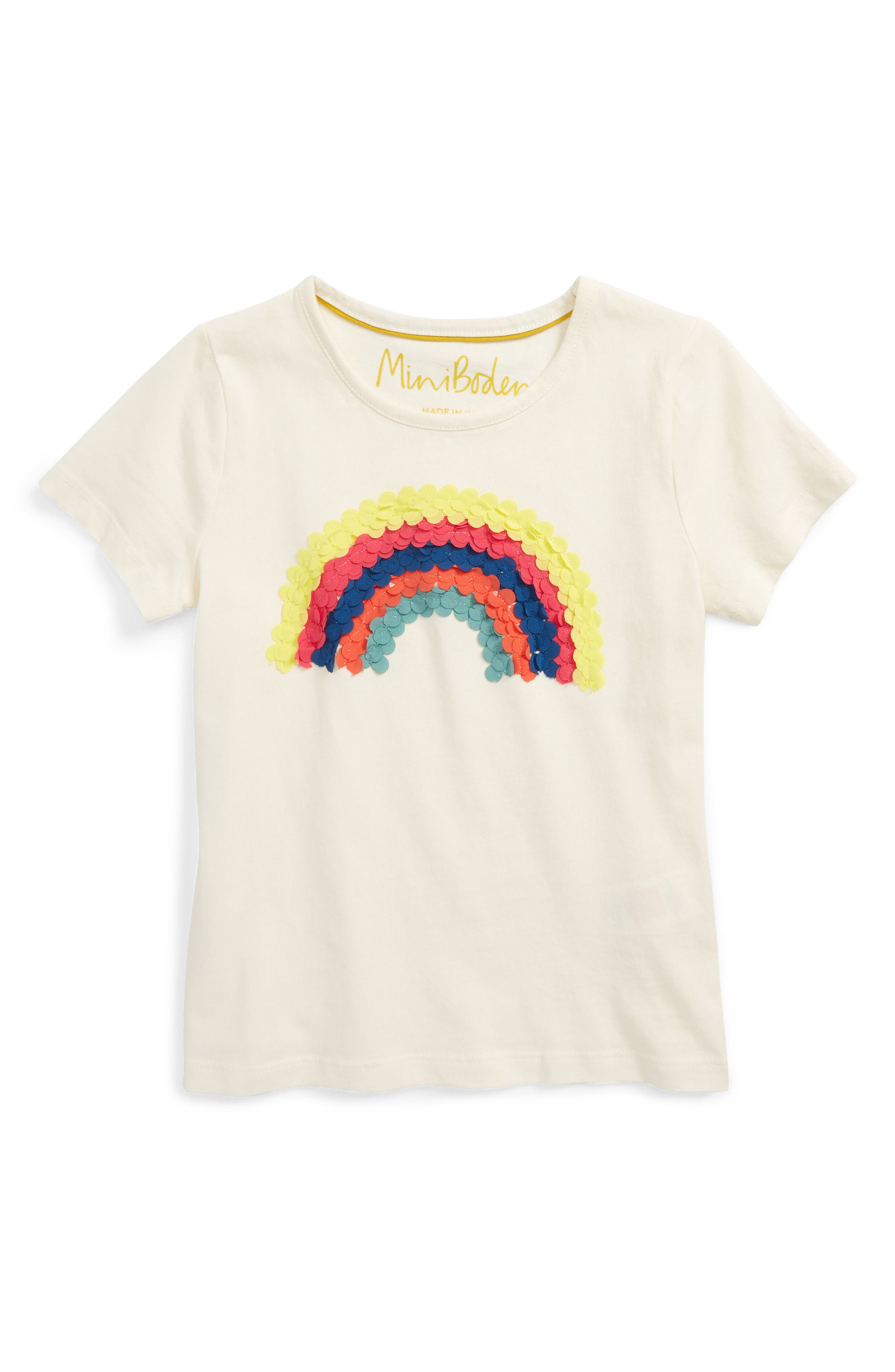 Mini Boden Great Outdoors Appliqué Tee (Toddler Girls, Little Girls & Big Girls)