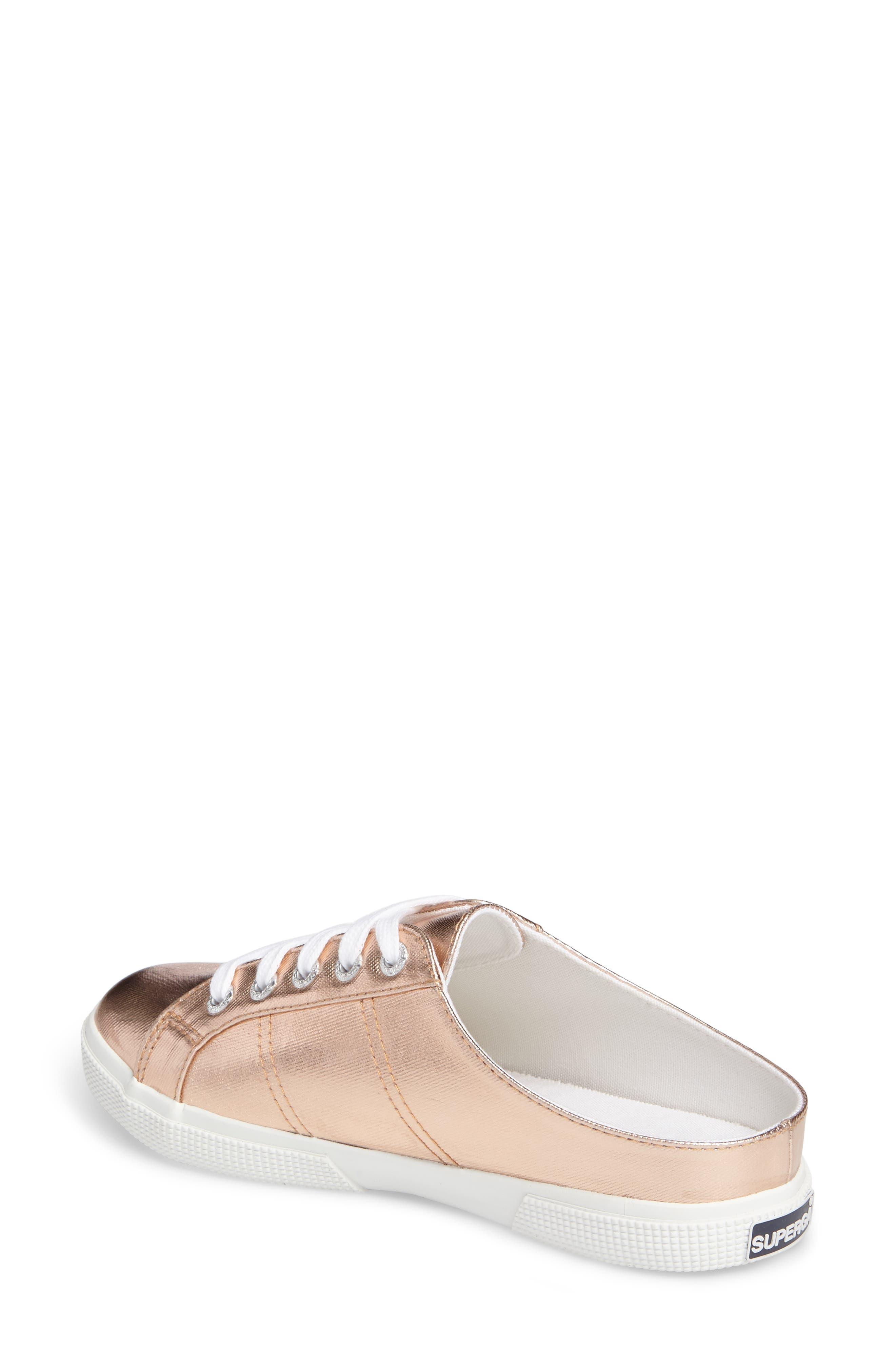 2288 Sneaker Mule,                             Alternate thumbnail 2, color,                             Rose Gold