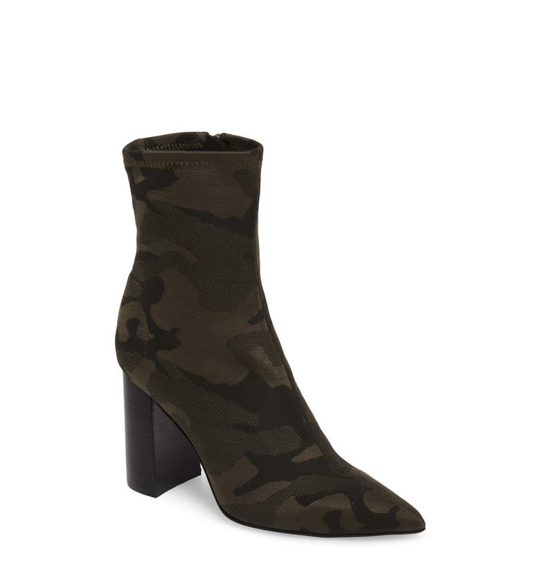 Siren Bootie, Main, color, Khaki Black Camo