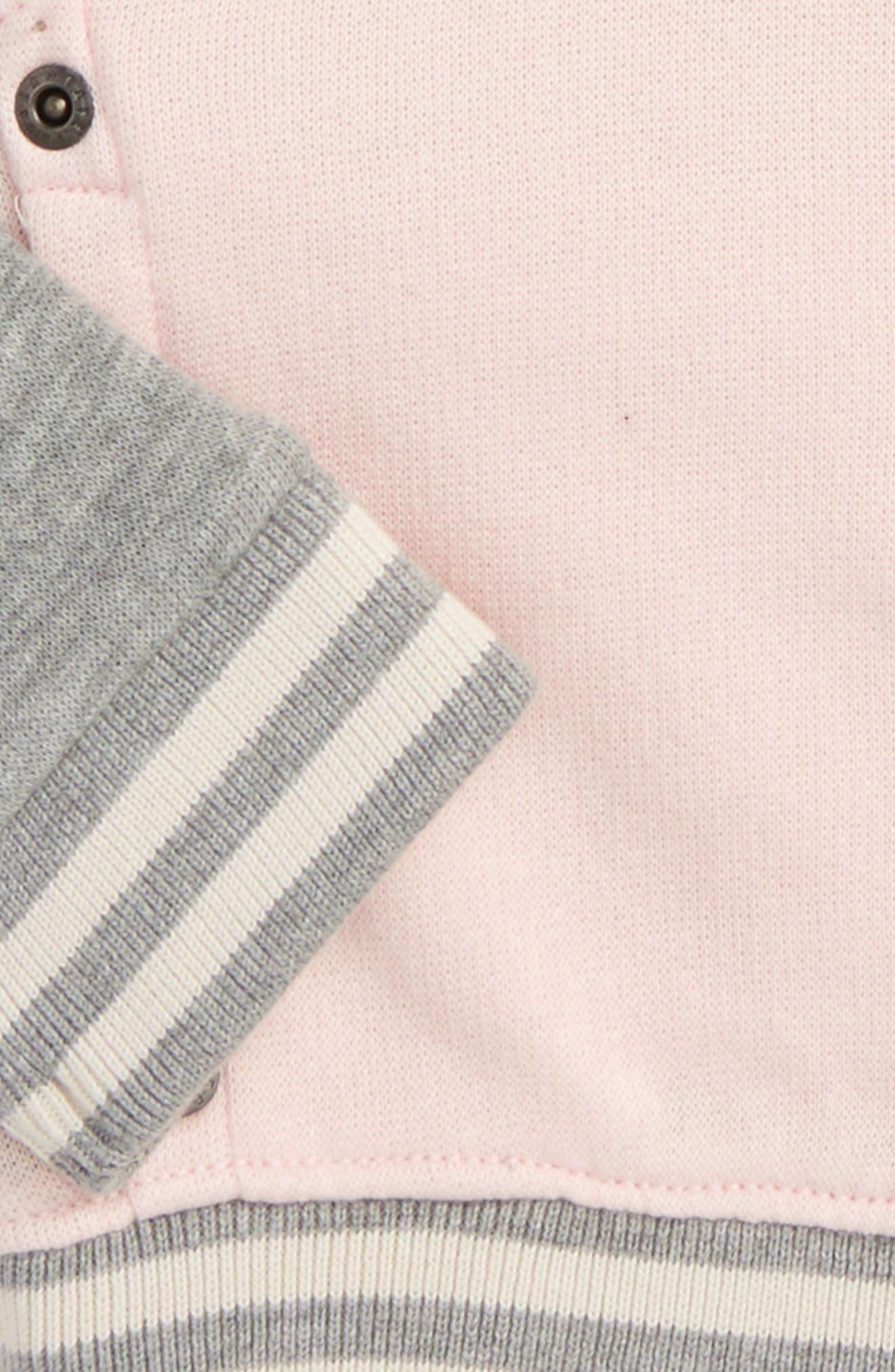 Bomber Jacket,                             Alternate thumbnail 2, color,                             Pink Glow