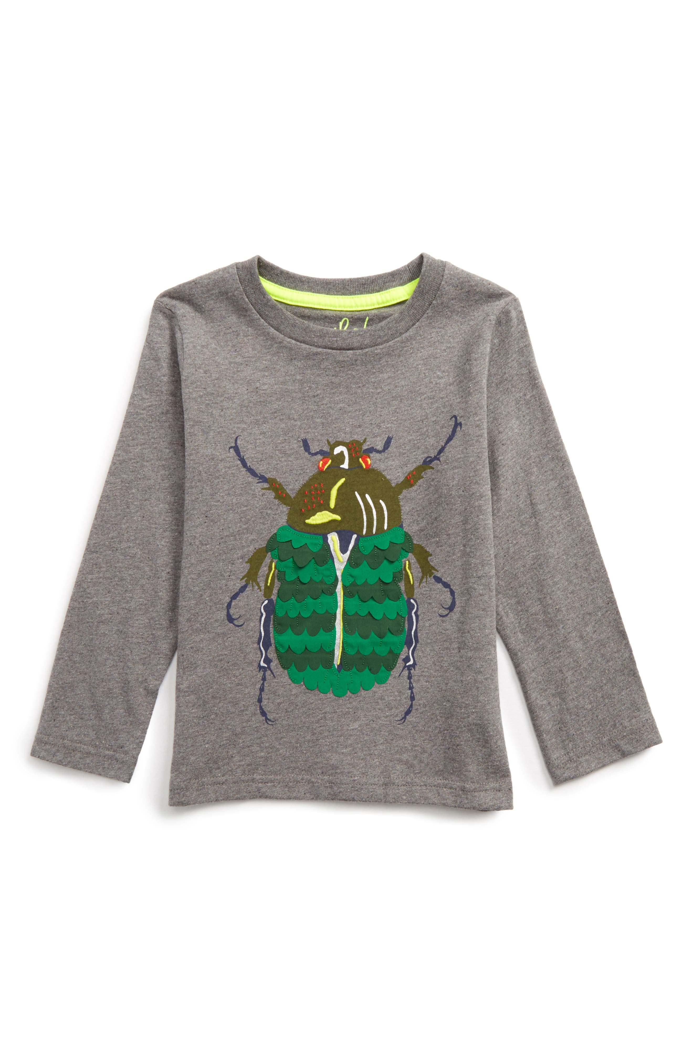 Textured Creature T-Shirt,                         Main,                         color, Grey Marl Beetle