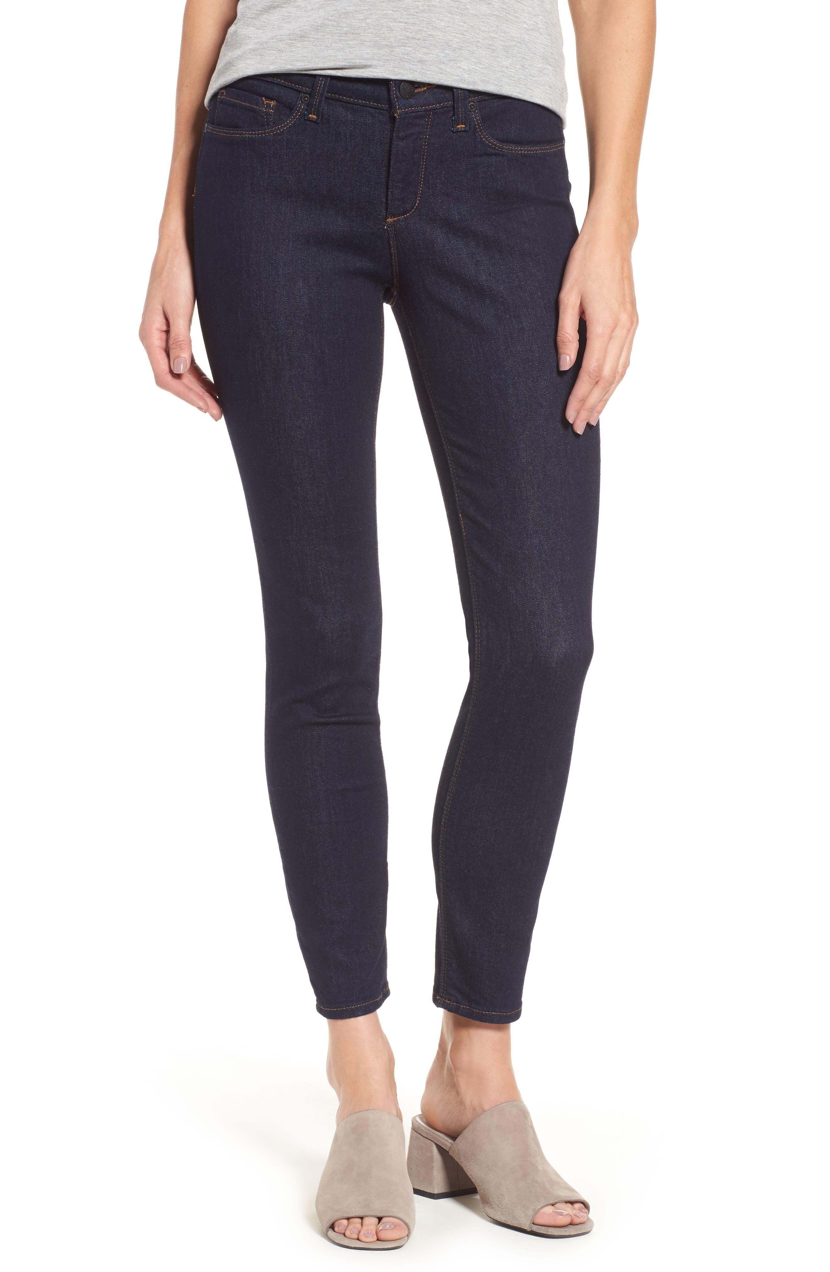 Alternate Image 1 Selected - NYDJ Dylan Stretch Skinny Ankle Jeans