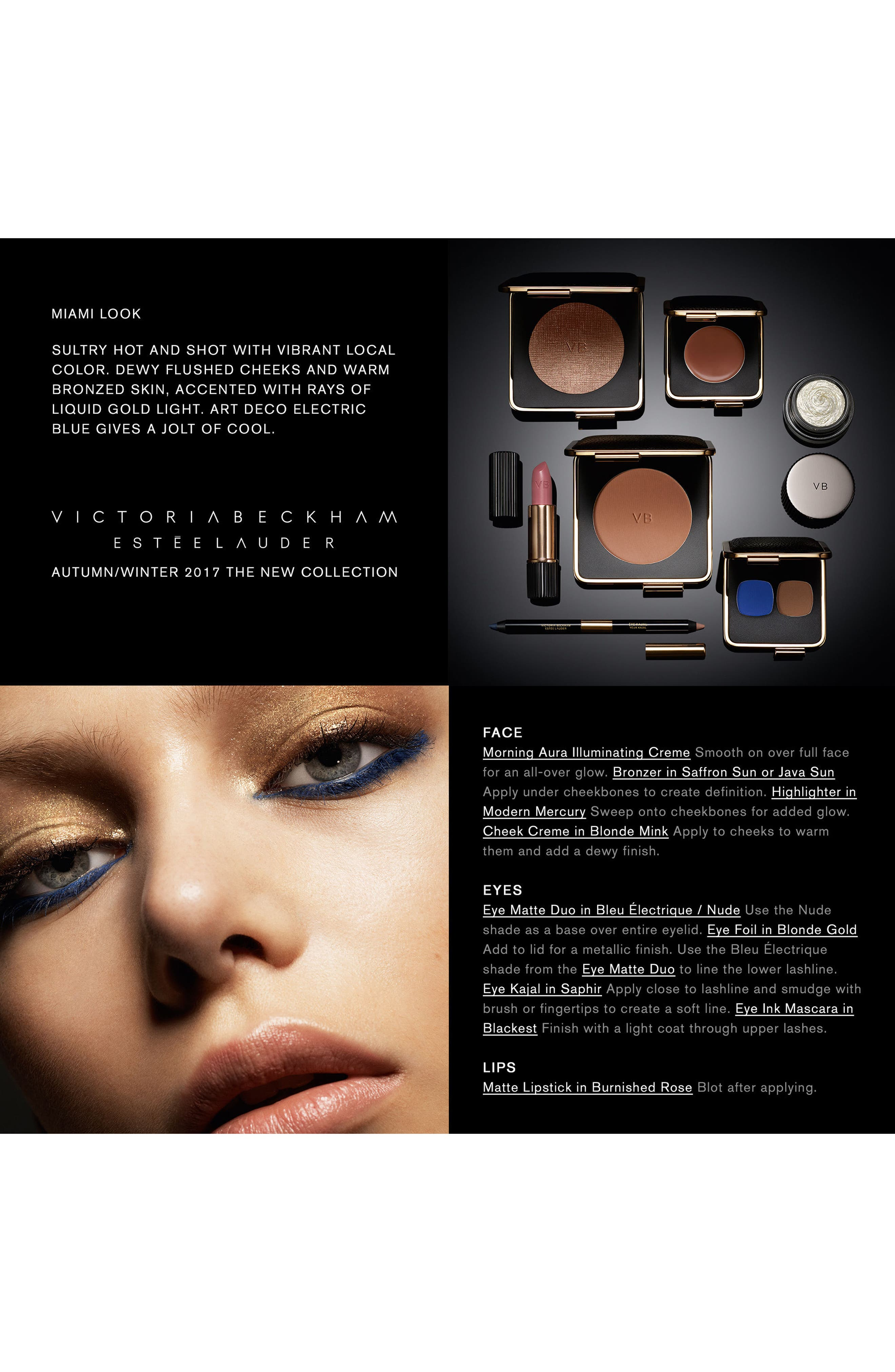 Alternate Image 2  - Estée Lauder Victoria Beckham Eye Matte Duo