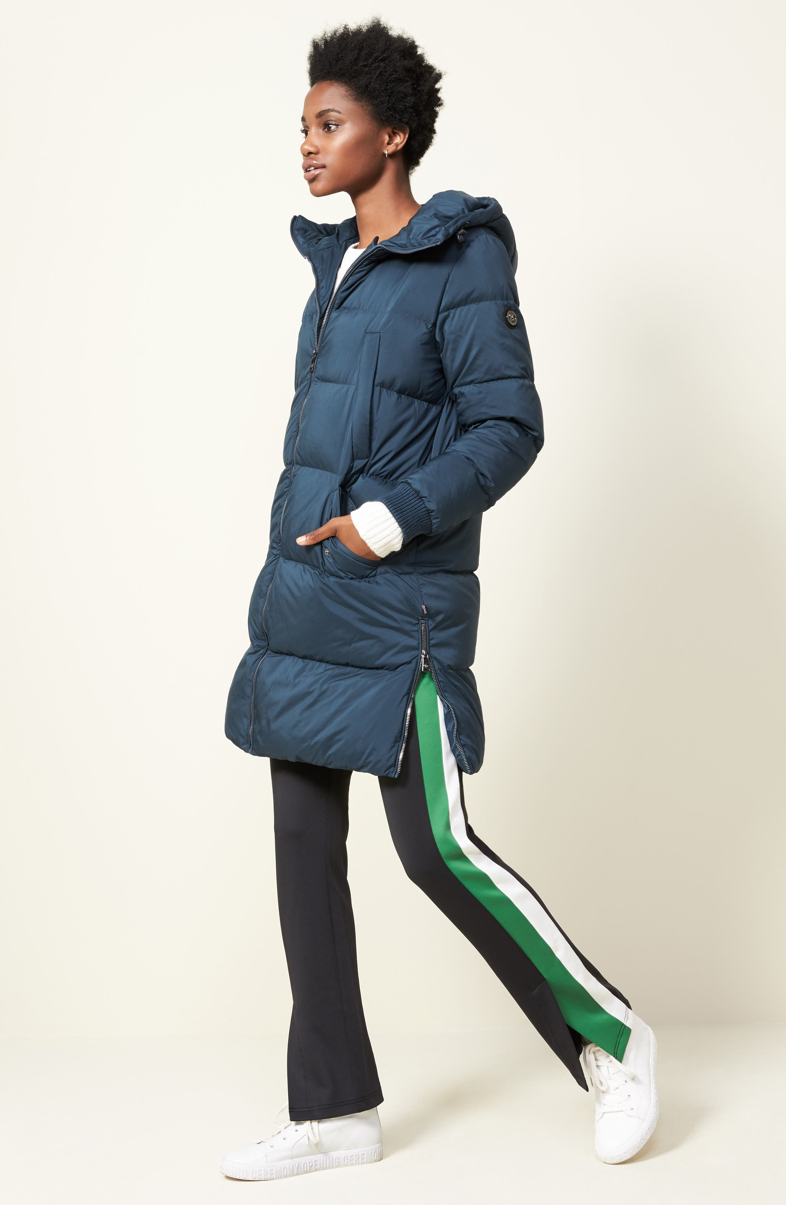Alternate Image 2  - Bernardo Quilted Down Jacket