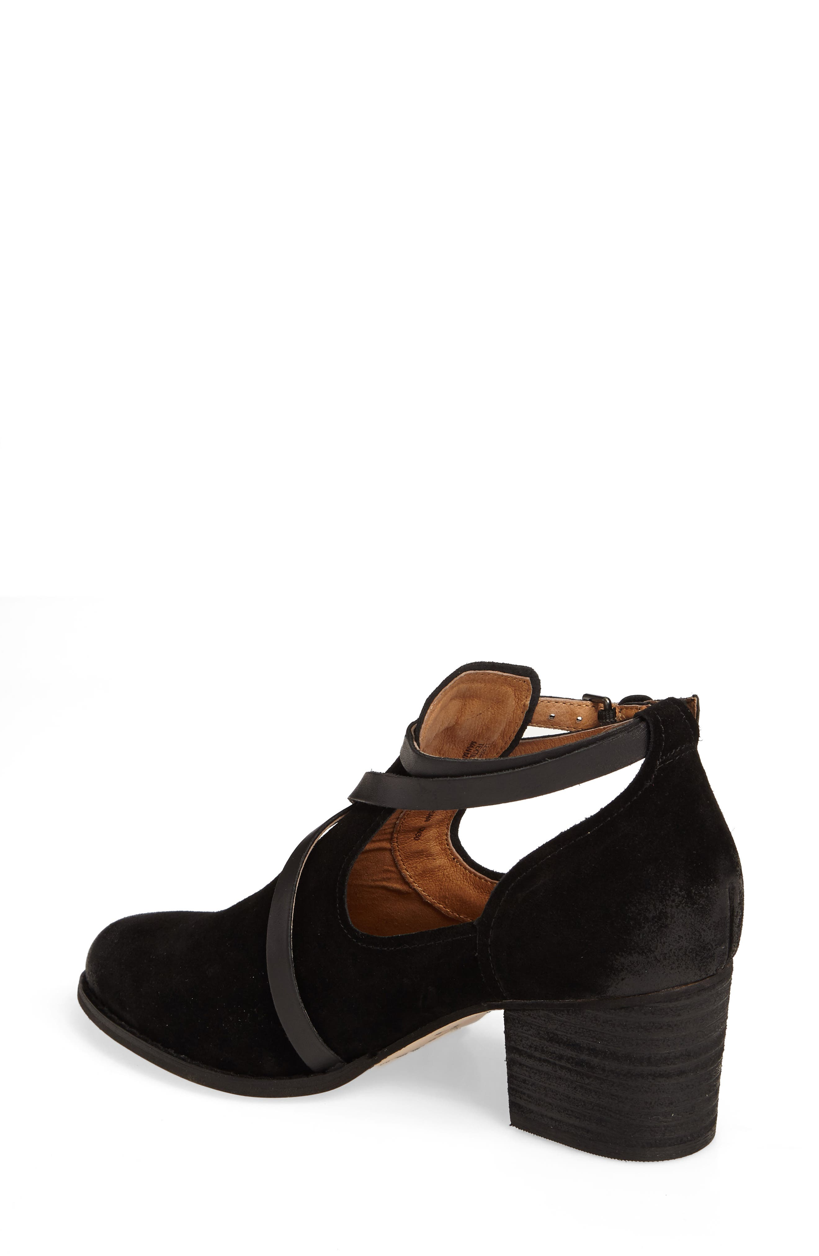 Hanna Bootie,                             Alternate thumbnail 2, color,                             Black Suede