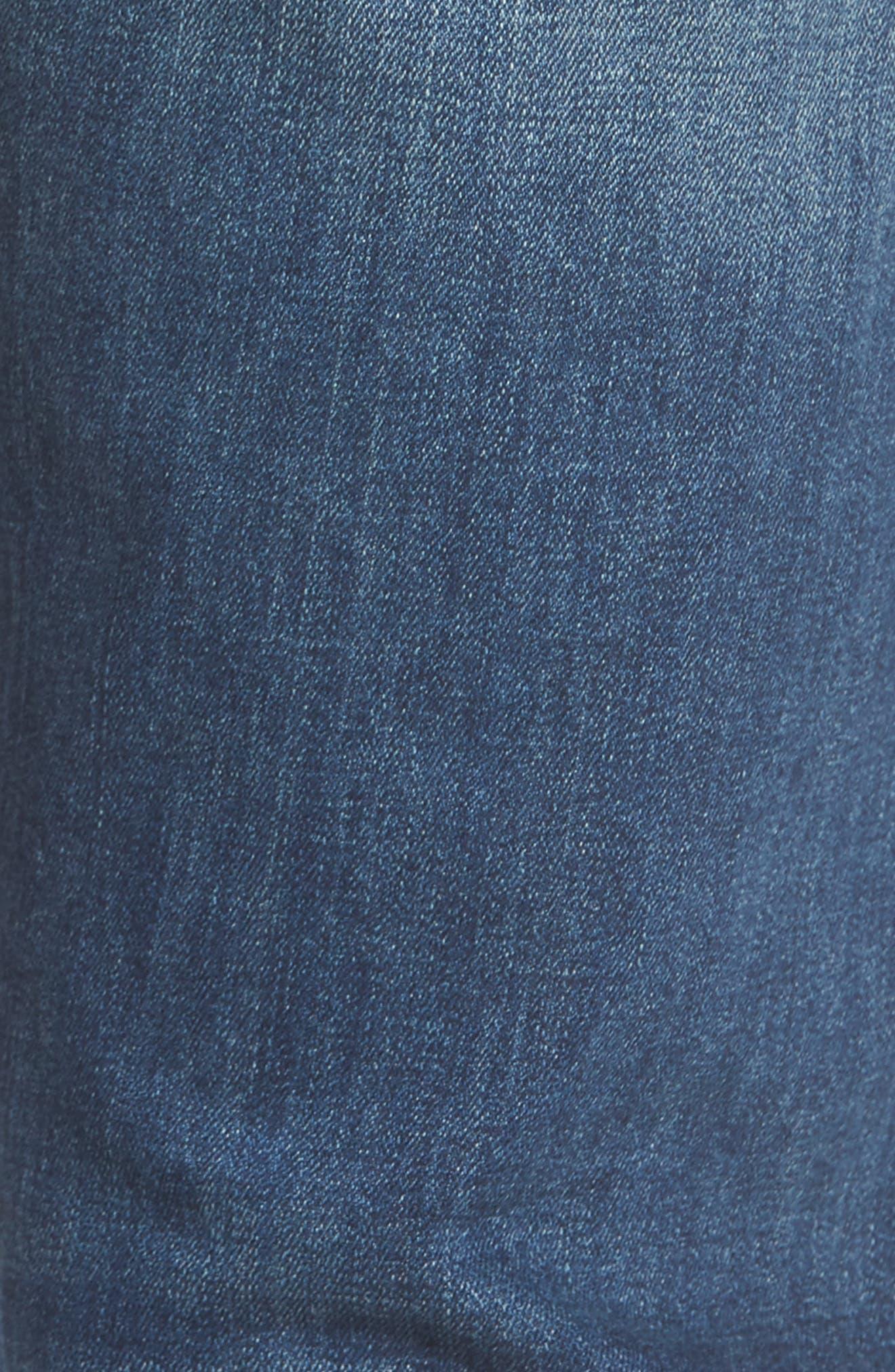 Avery Slim Straight Leg Jeans,                             Alternate thumbnail 5, color,                             Epoxy