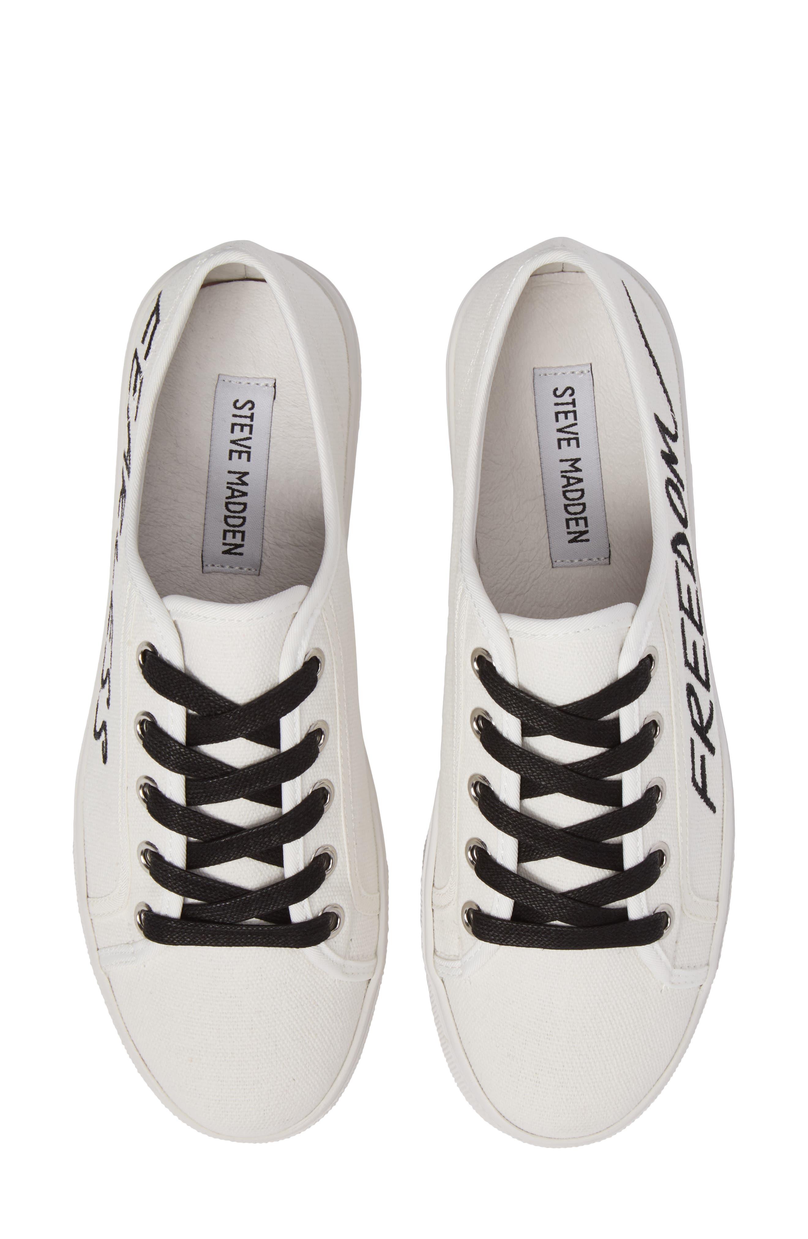 Alternate Image 6  - Steve Madden Fink Platform Sneaker (Women)
