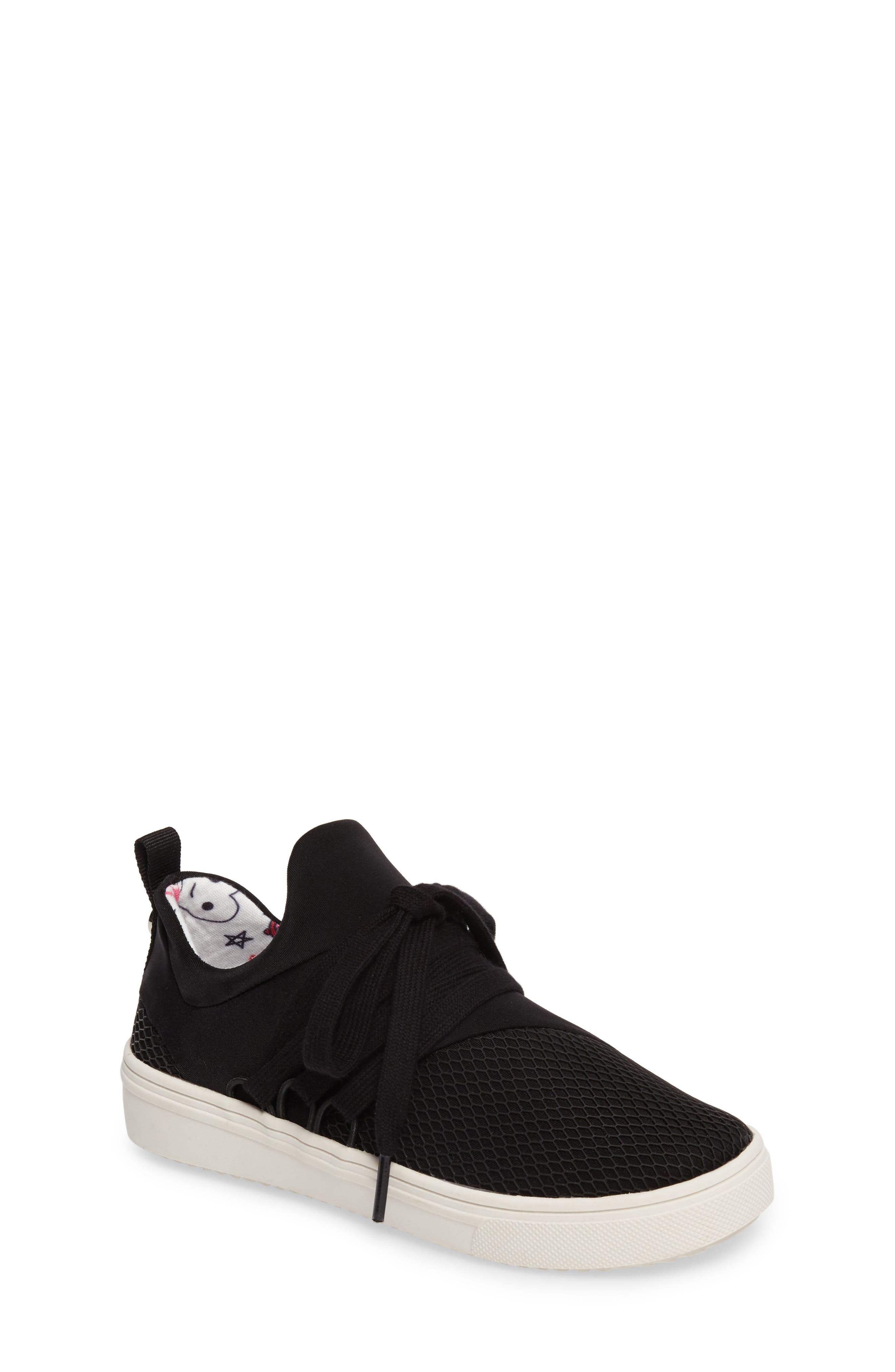Steve Madden Lancer Mesh Sock-Fit Sneaker (Little Kid & Big Kid)