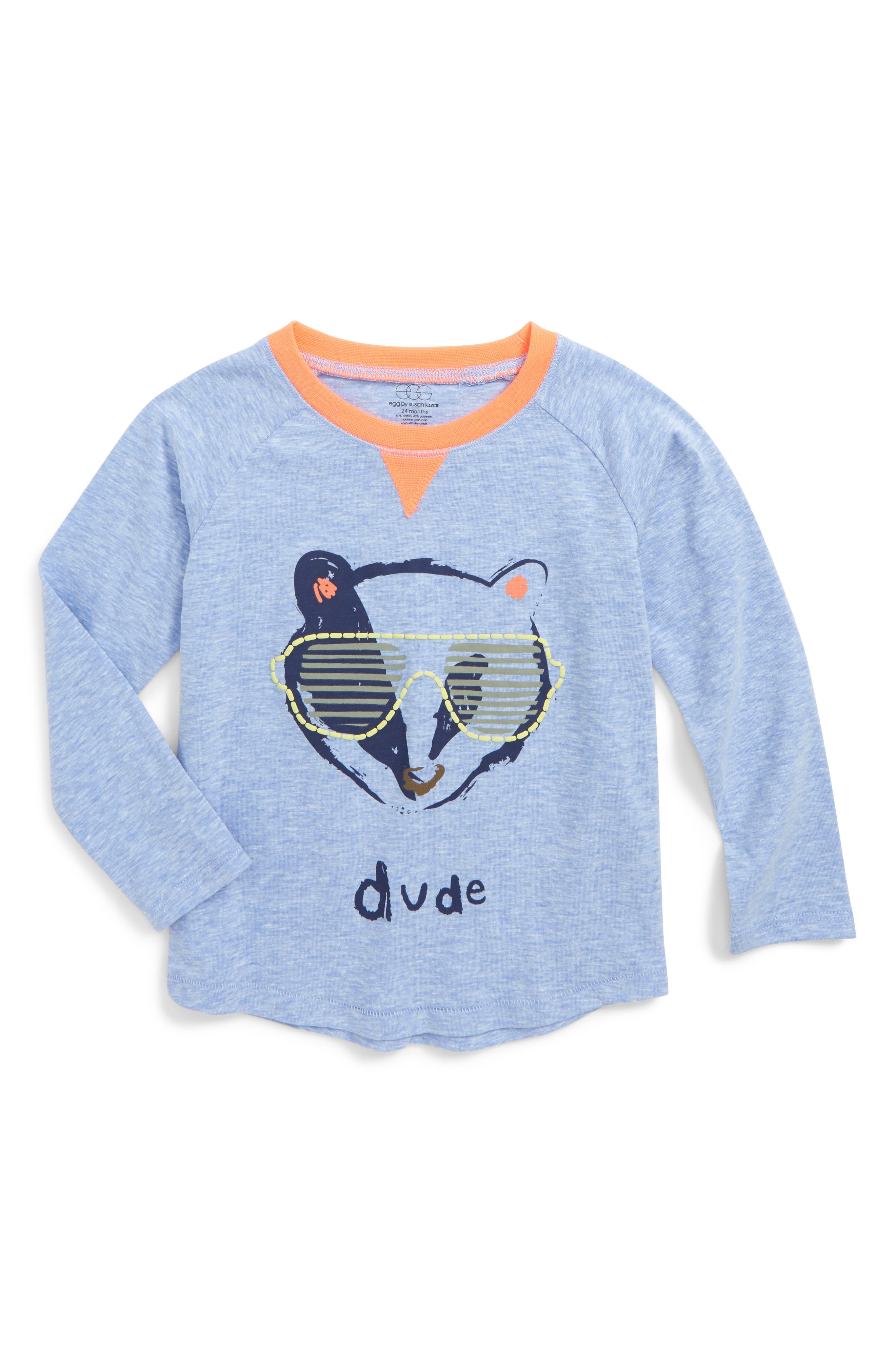 egg by susan lazar Asher Graphic T-Shirt (Baby Boys)