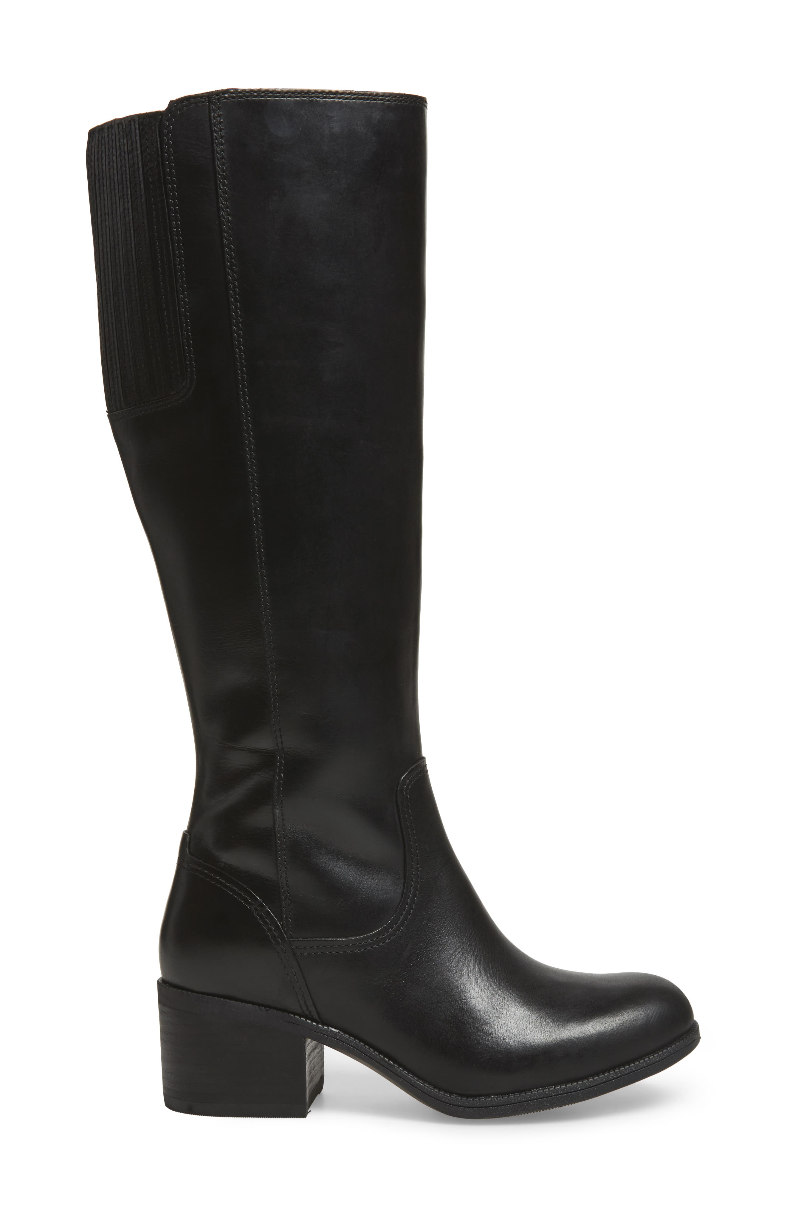 Maypearl Viola Boot,                             Alternate thumbnail 3, color,                             Black Leather