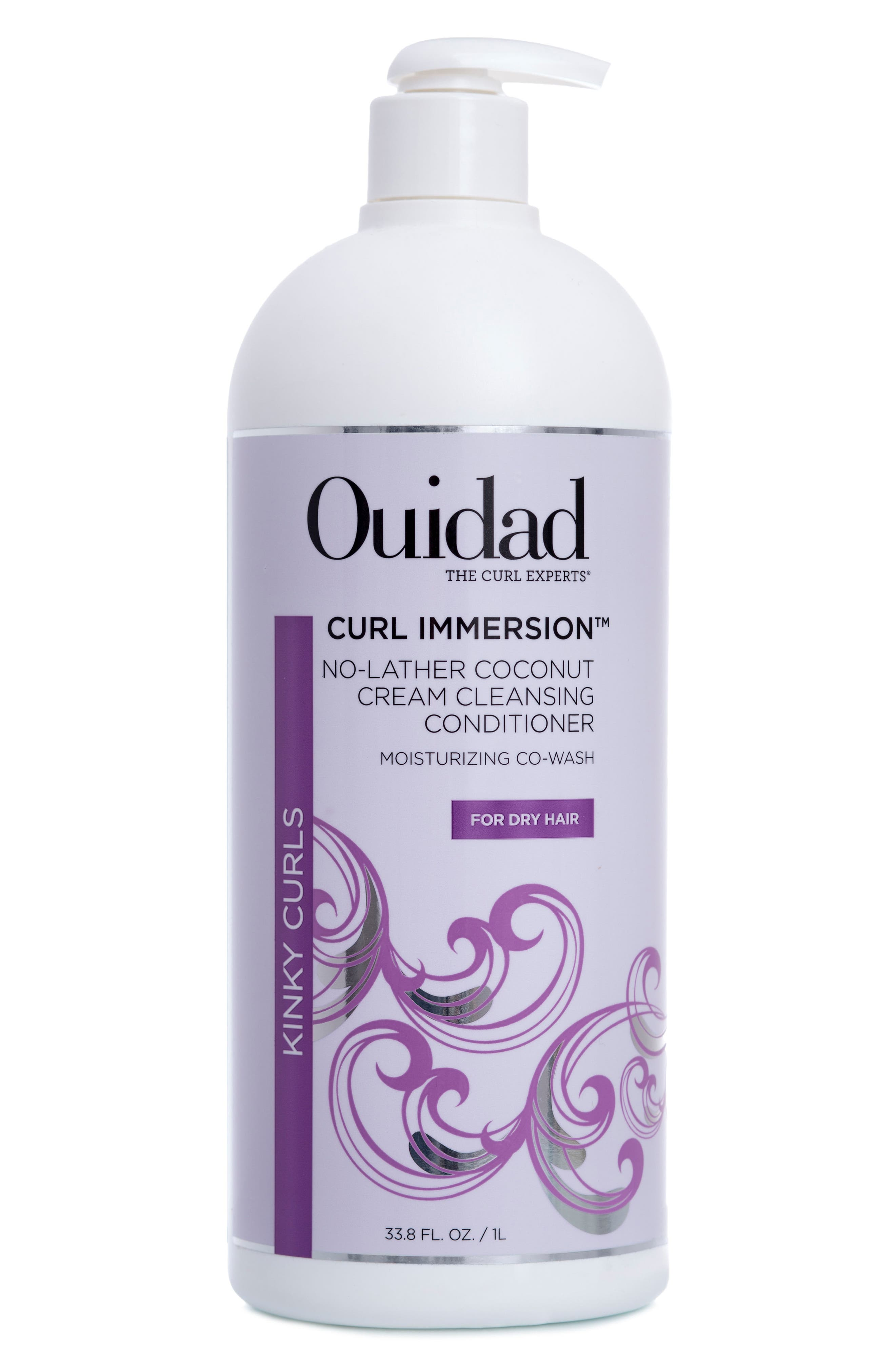 Curl Immersion<sup>™</sup> No-Lather Coconut Cream Cleansing Conditioner,                         Main,                         color, No Color