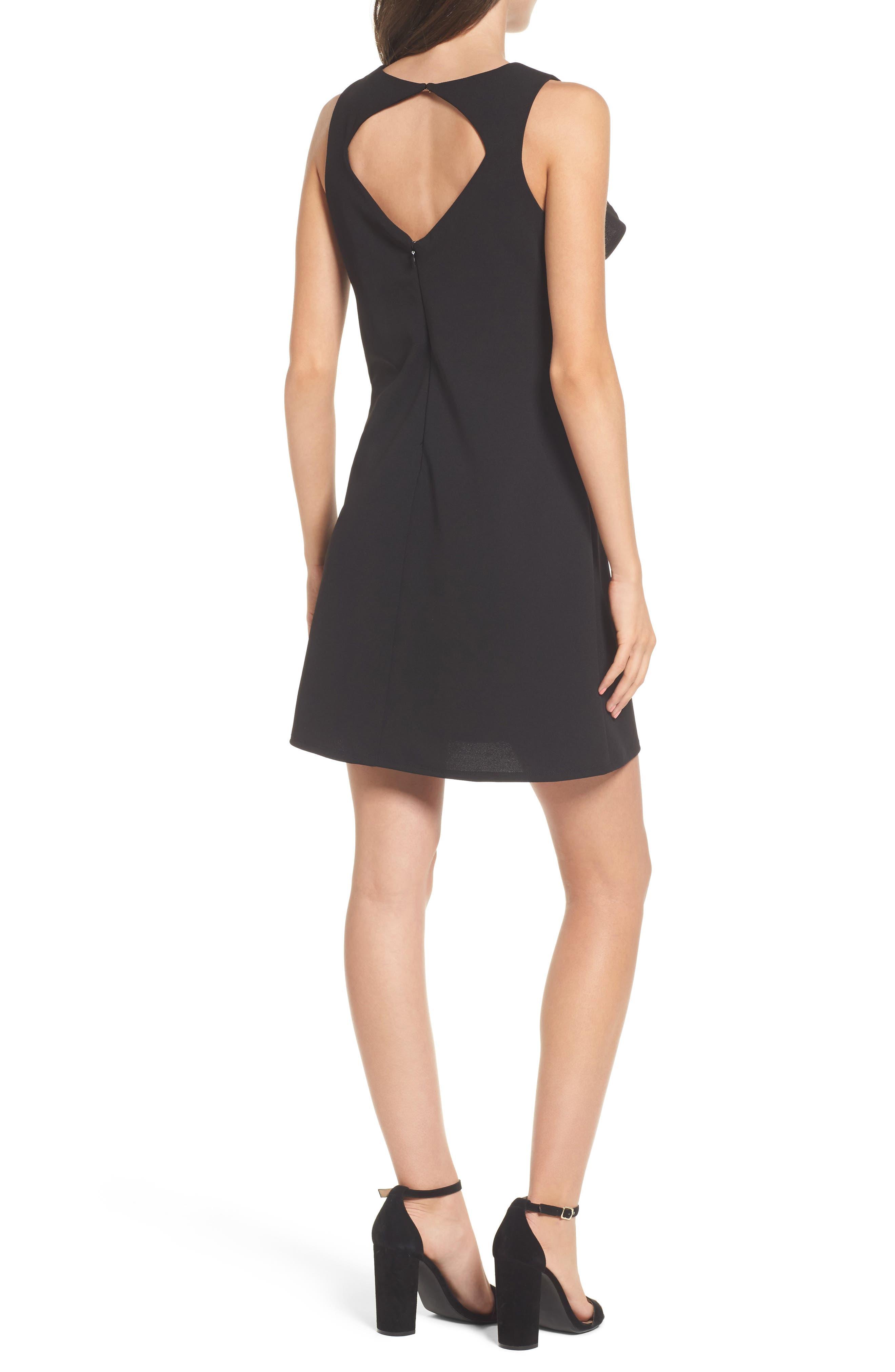 Alternate Image 2  - Speechless Ruffle Sleeveless Dress