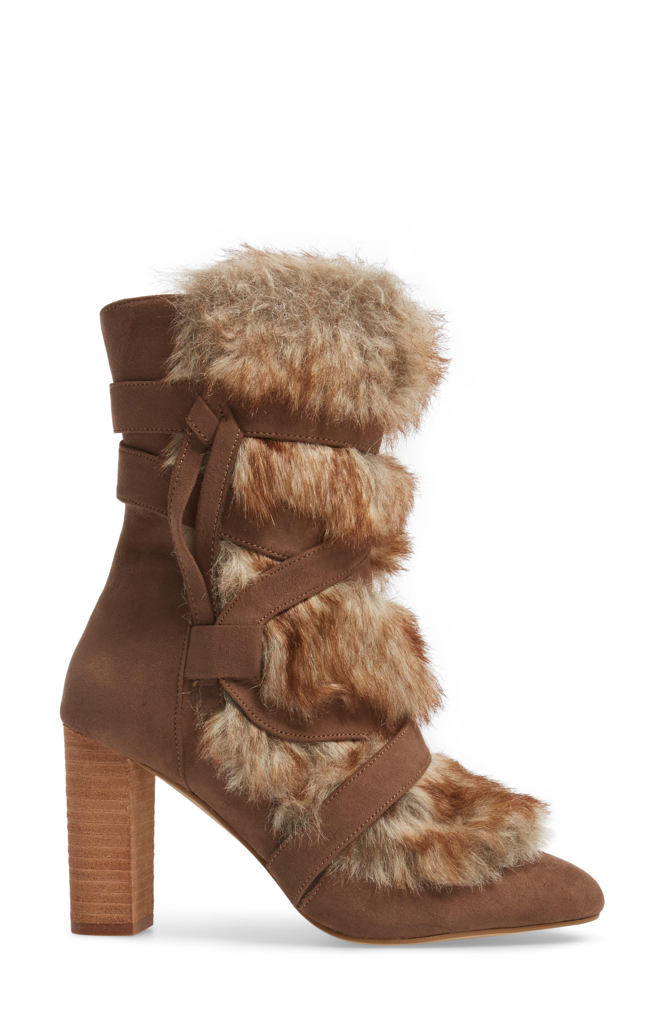 Alternate Image 3  - Charles by Charles David Alberta Faux Fur Boot (Women)