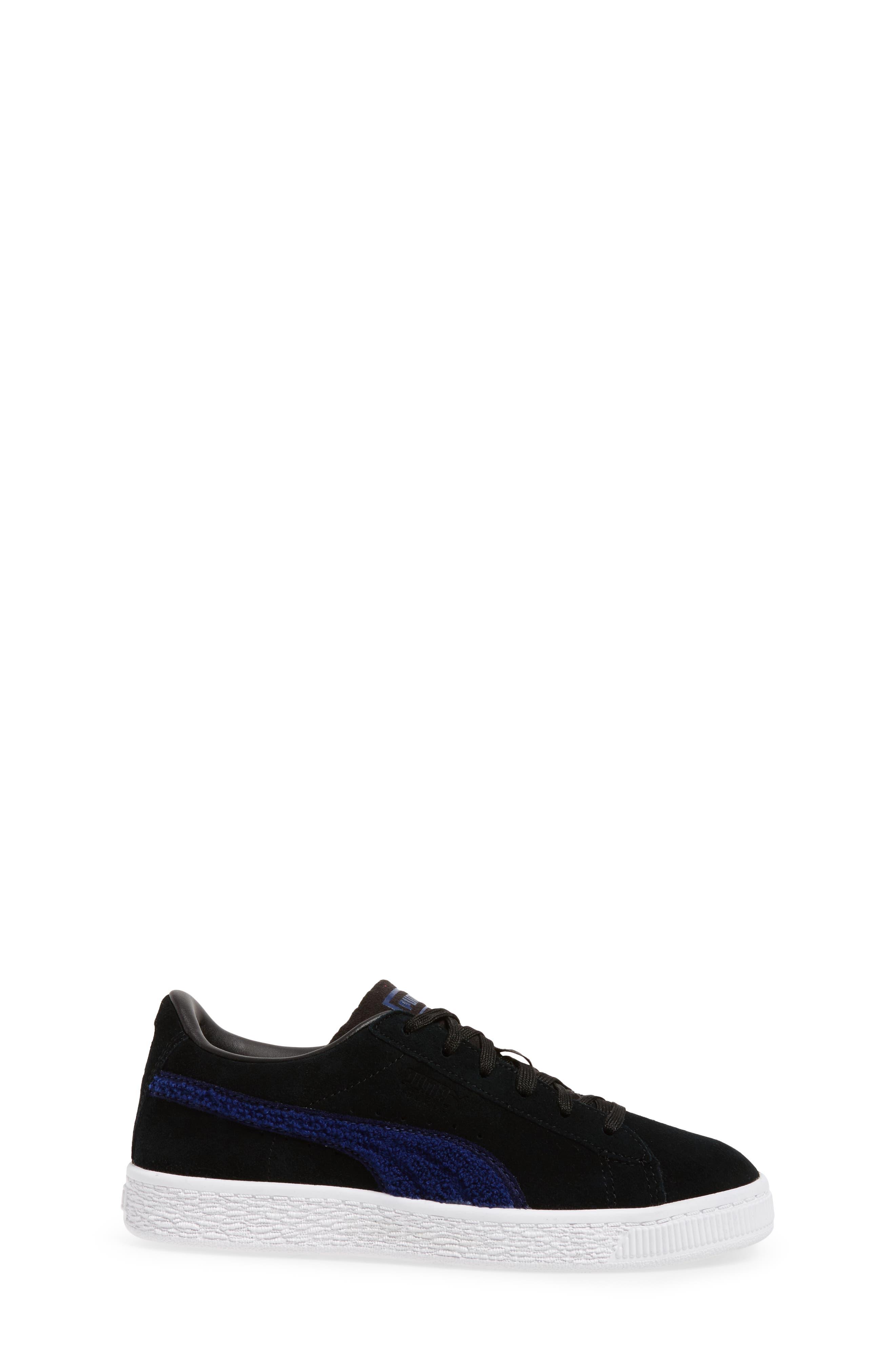Alternate Image 3  - PUMA Classic Terry Sneaker (Toddler, Little Kid & Big Kid)