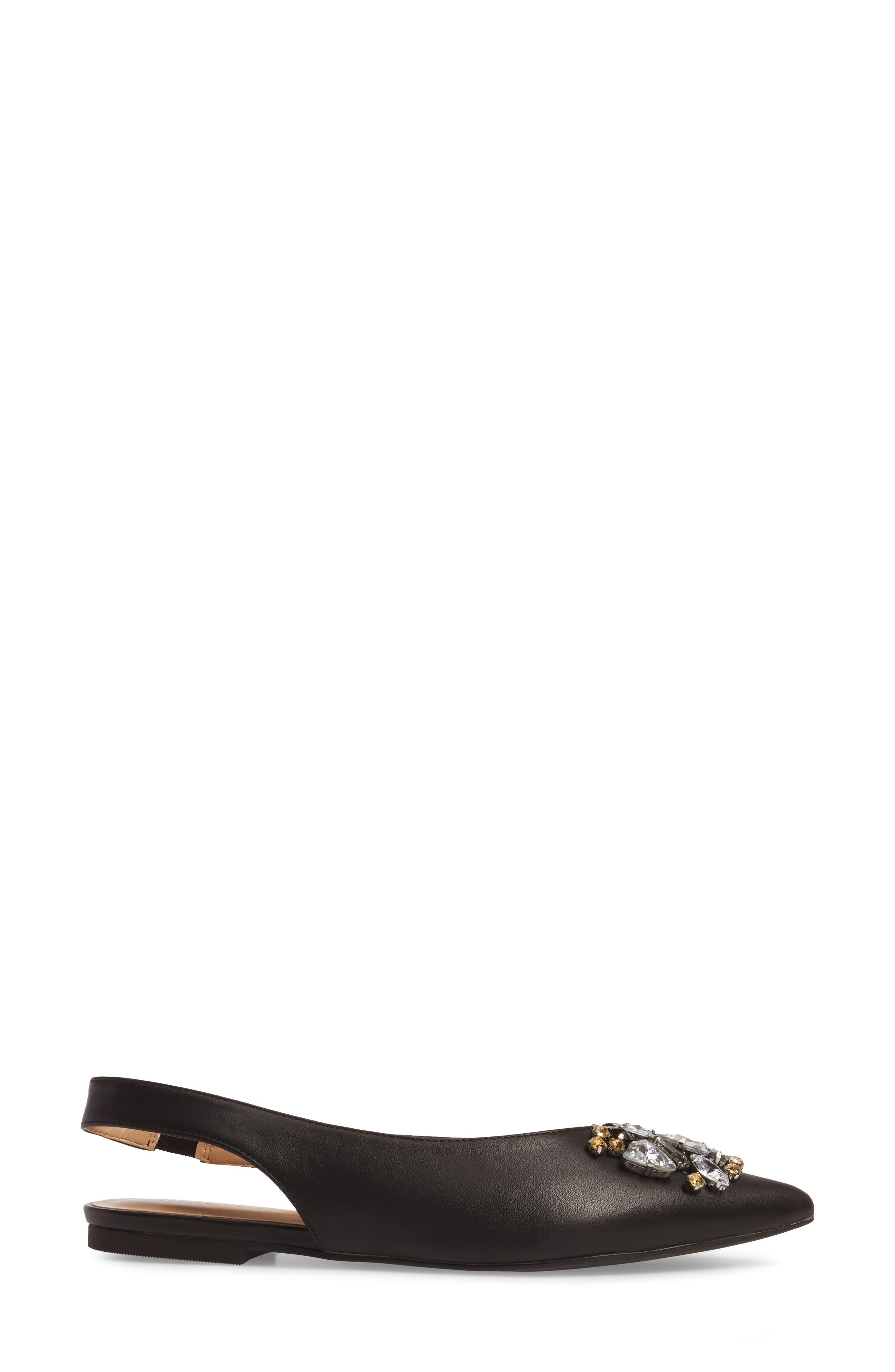 Alternate Image 3  - Topshop Ava Embellished Slingback Flat (Women)