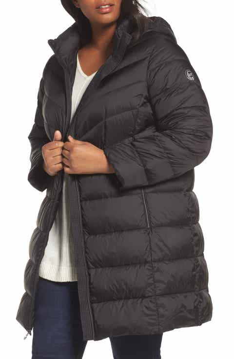 Plus size womens coats clearance