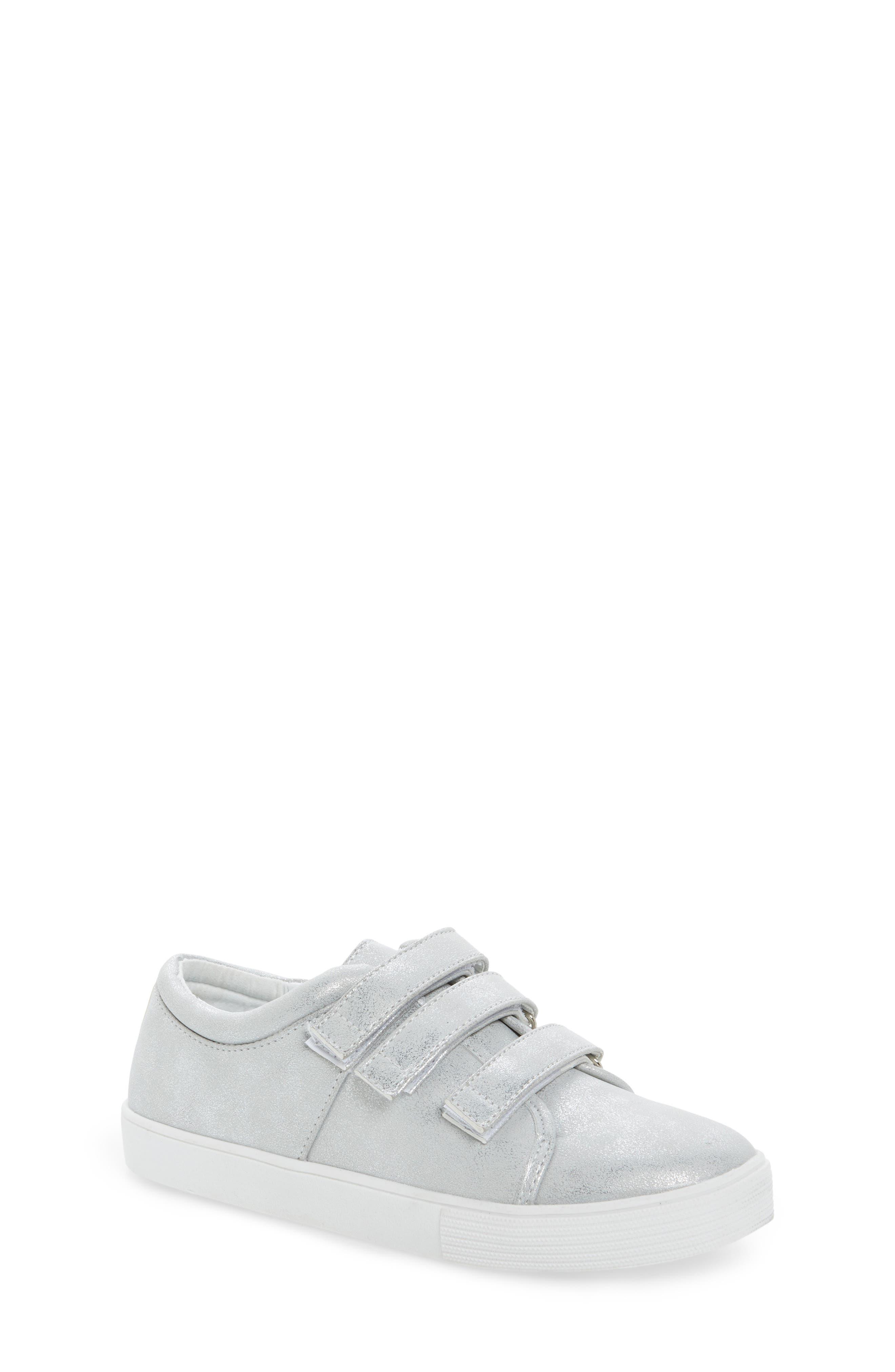 Alternate Image 1 Selected - Kenneth Cole New York Kam Glitter Strap Sneaker (Toddler, Little Kid & Big Kid)