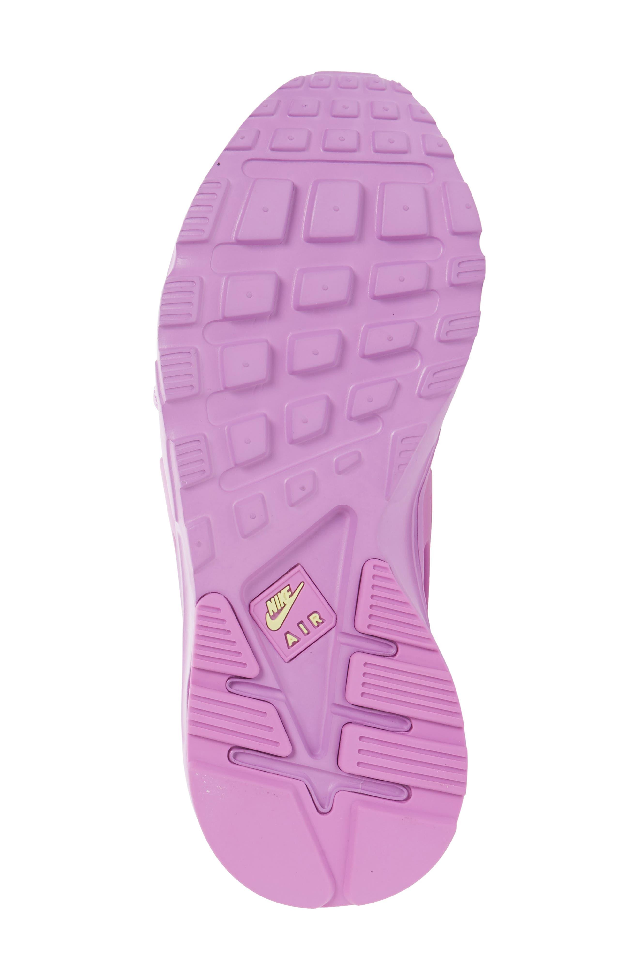 Air Huarache Gladiator Sandal,                             Alternate thumbnail 6, color,                             Fuchsia Glow