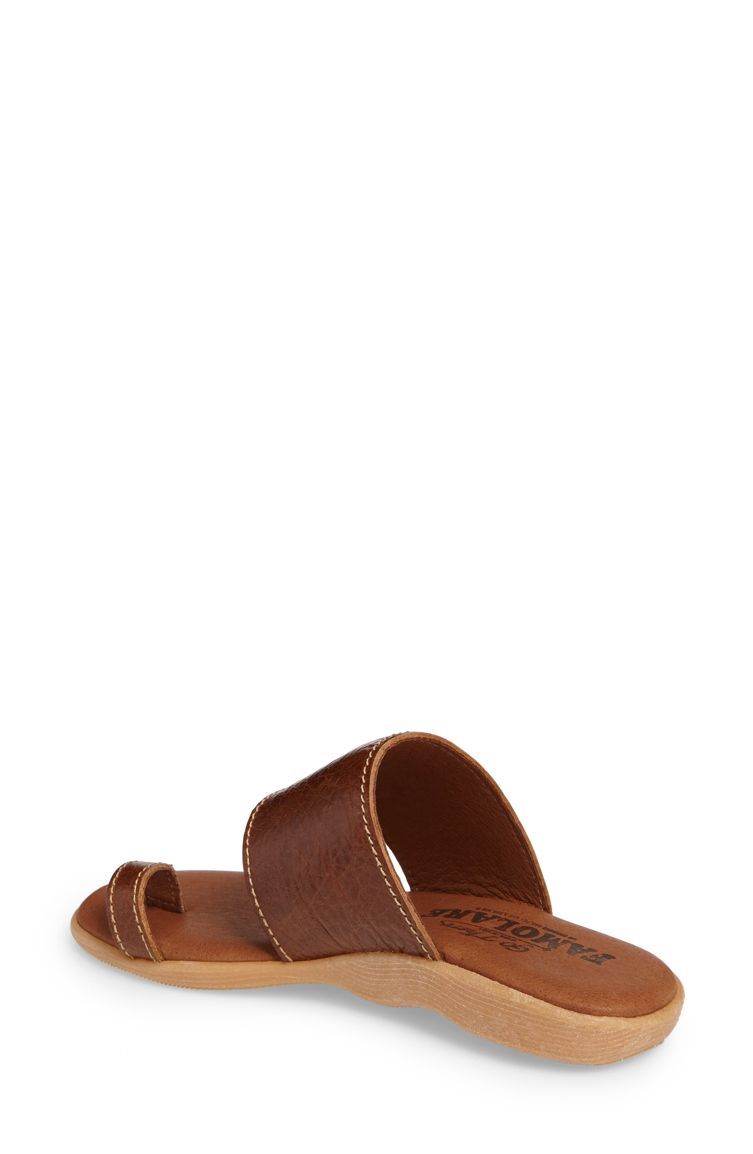 Alternate Image 2  - Famolare Band & Deliver Toe Loop Slide Sandal (Women)