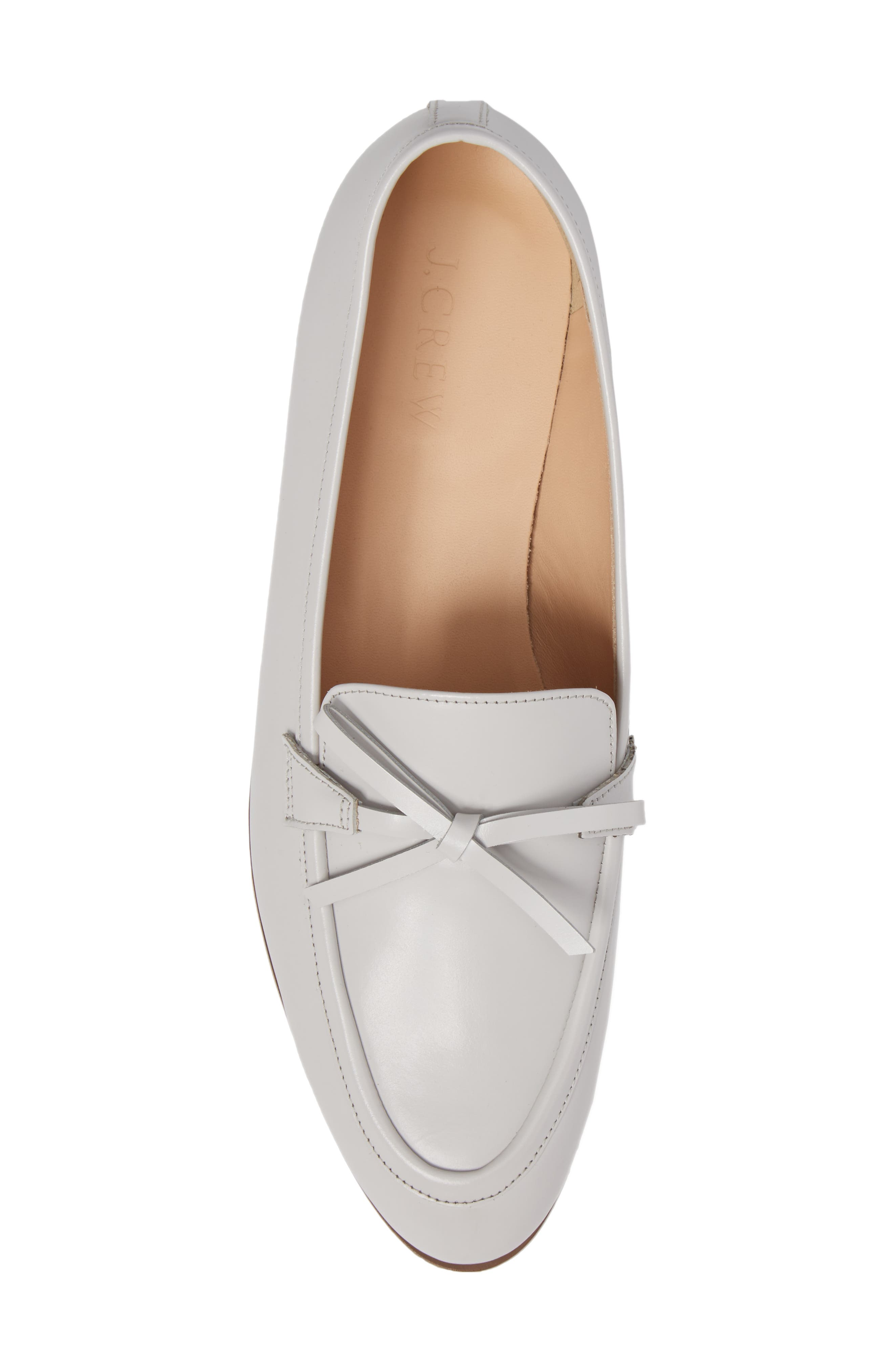 Bow Loafer,                             Alternate thumbnail 5, color,                             Highland Mist Leather