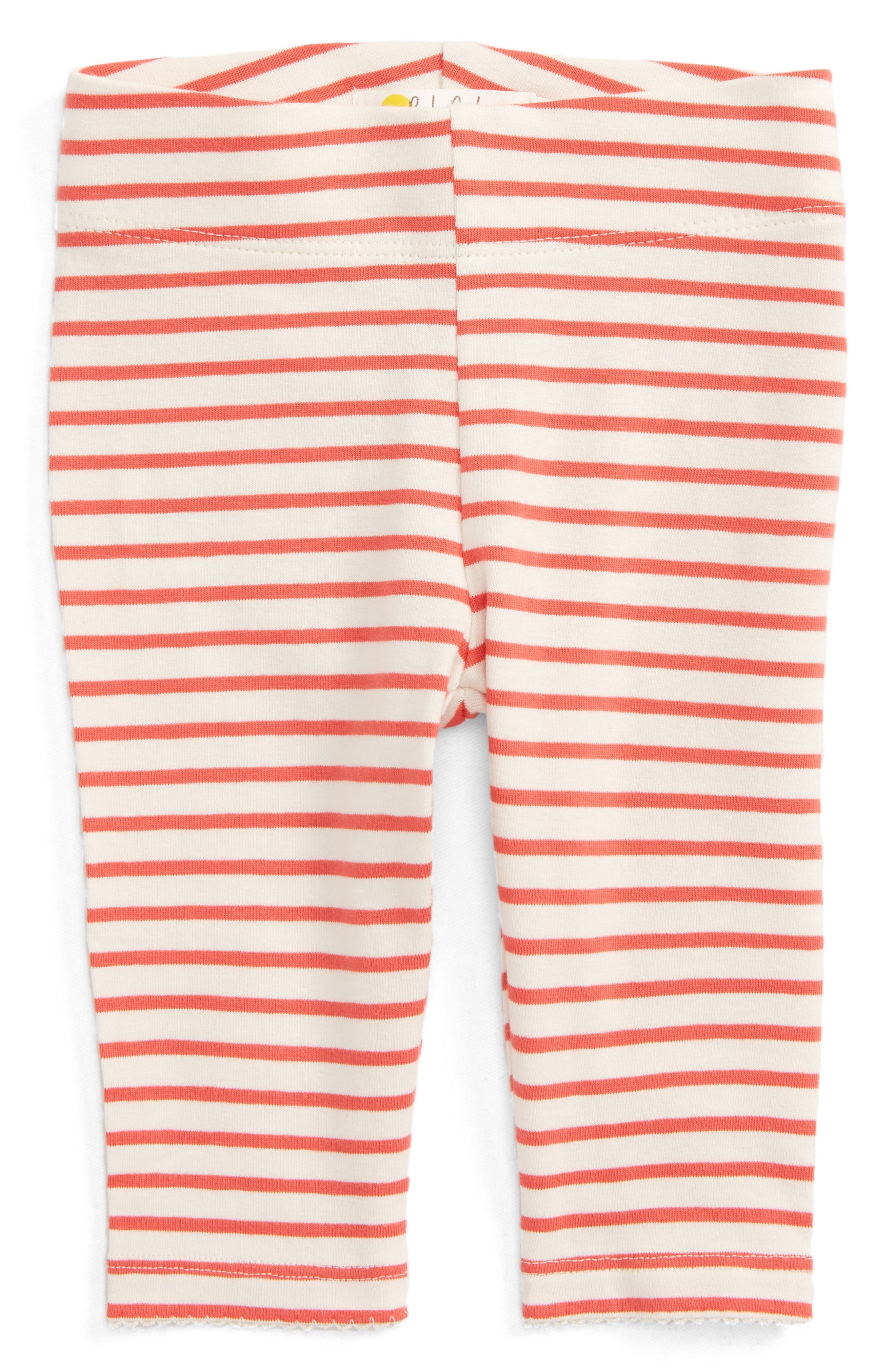 Mini Boden Stripe Leggings (Baby Girls & Toddler Girls)