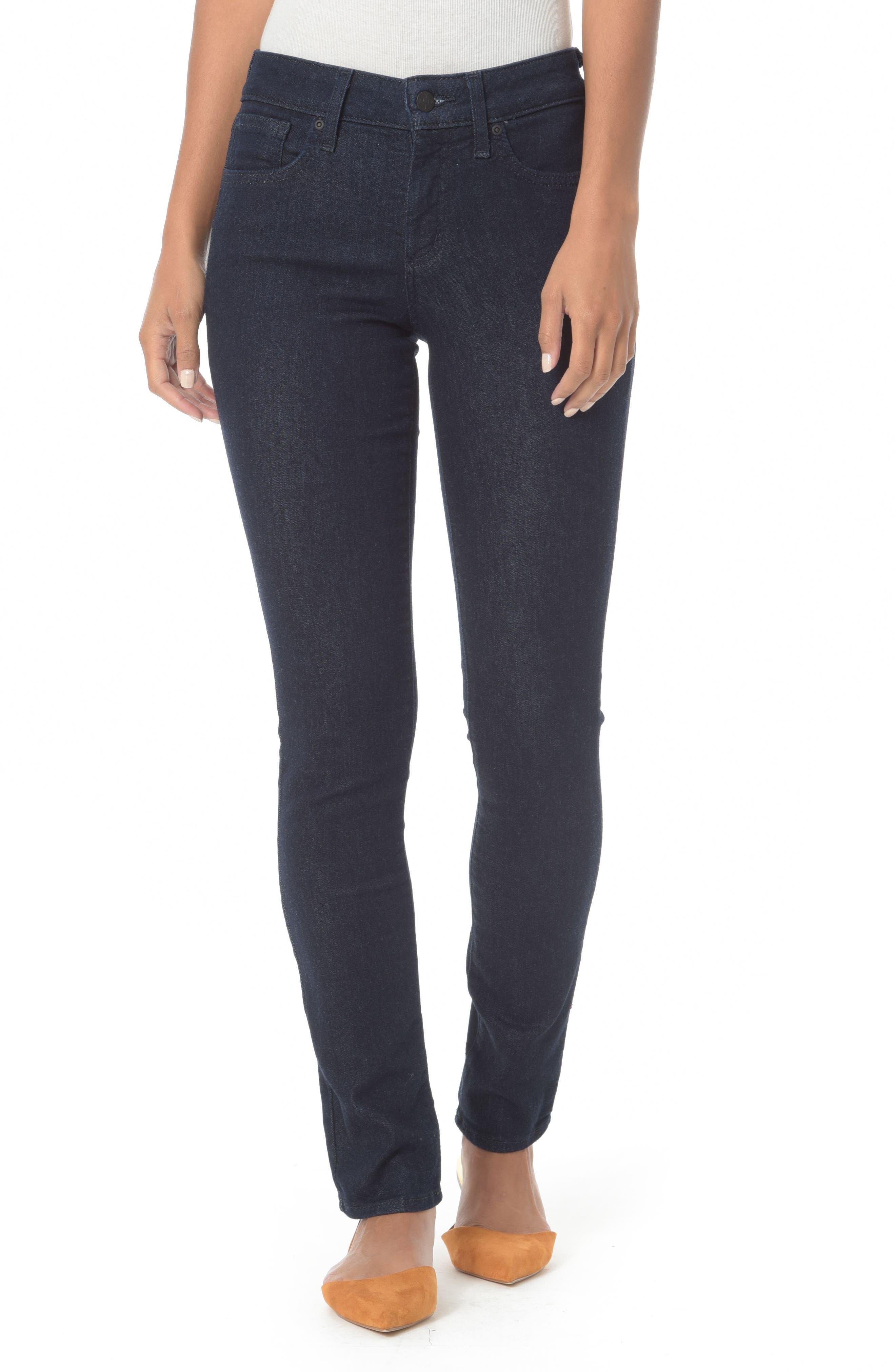 Main Image - NYDJ Alina Stretch Skinny Jeans (Regular & Petite)