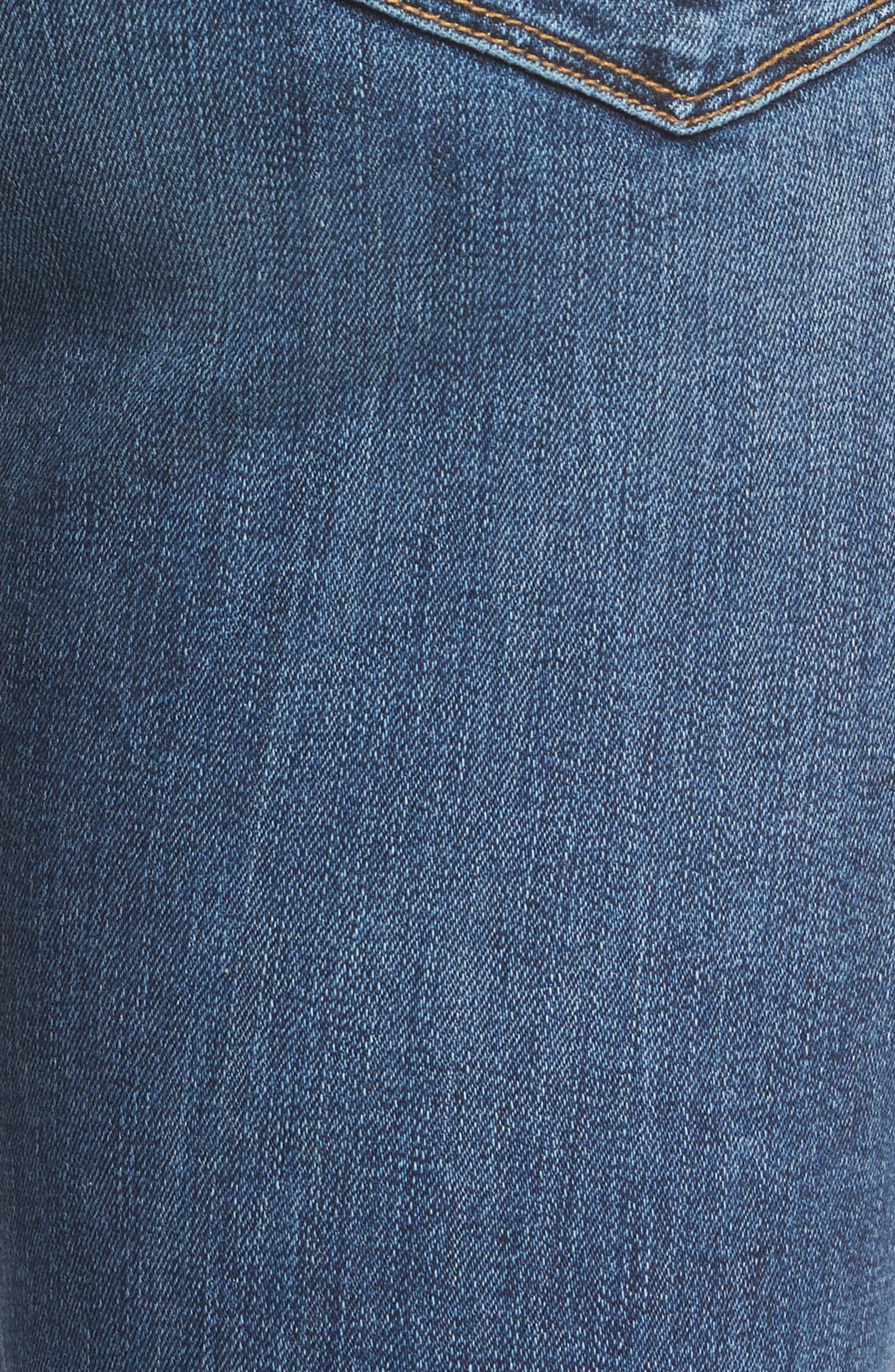 Tally Unfamed Hem Skinny Jeans,                             Alternate thumbnail 5, color,                             Split Second