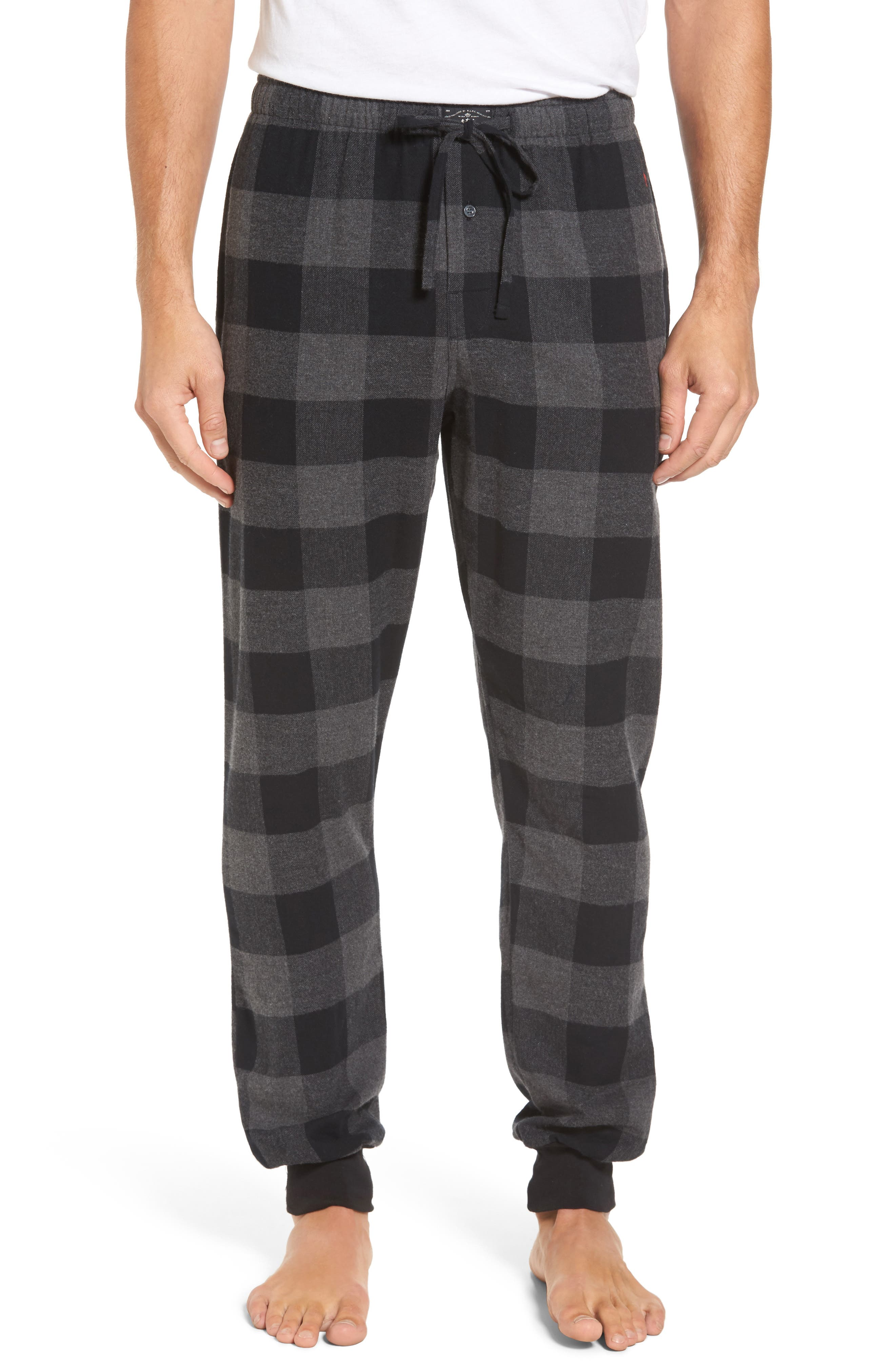 Polo Ralph Lauren Check Jogger Pajama Bottoms