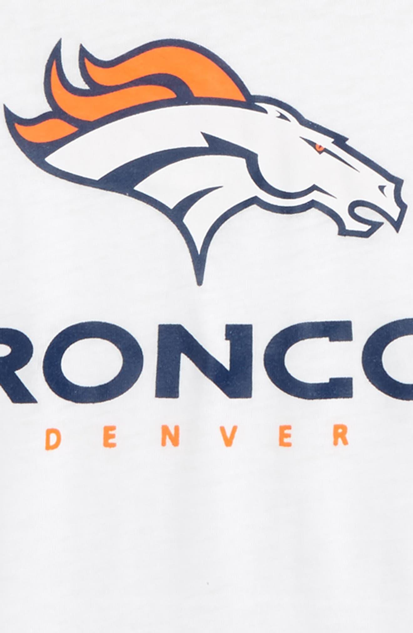 NFL Denver Broncos Team Pride Tee,                             Alternate thumbnail 2, color,                             Orange
