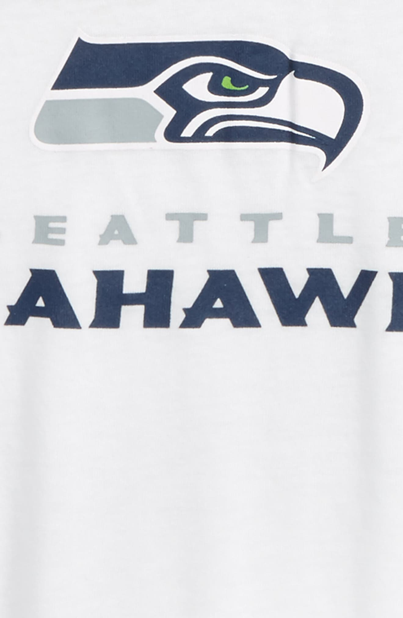Alternate Image 2  - Outerstuff NFL - Seattle Seahawks Team Pride Tee (Big Girls)