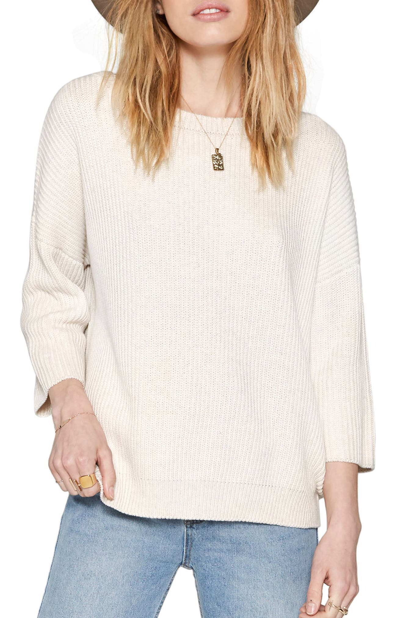 Women's Beige Cotton Sweaters | Nordstrom