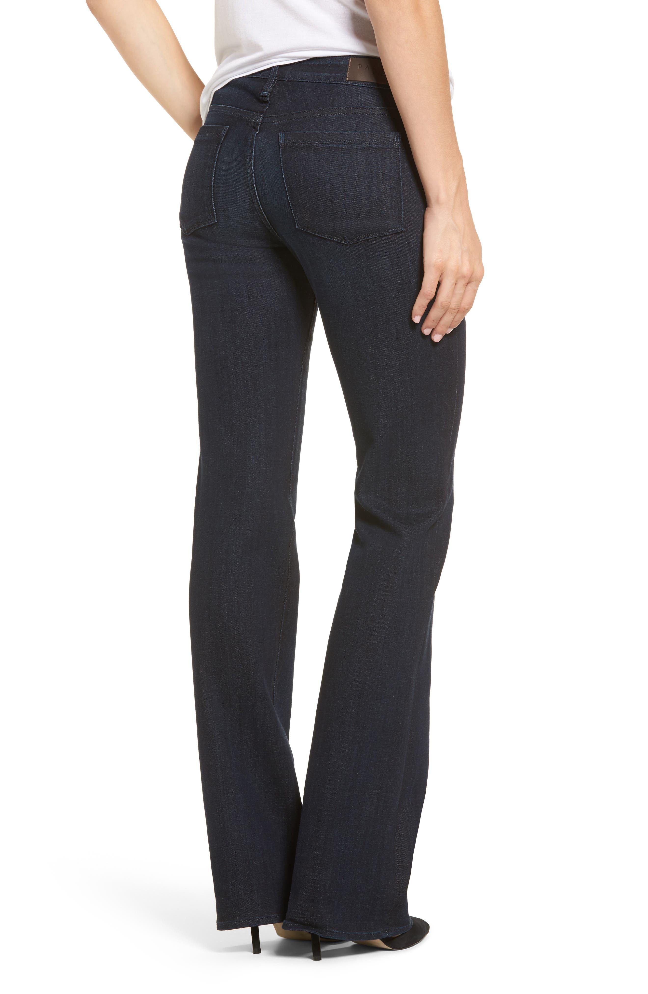 Alternate Image 2  - PARKER SMITH Becky Bootcut Jeans (Washed Sky)