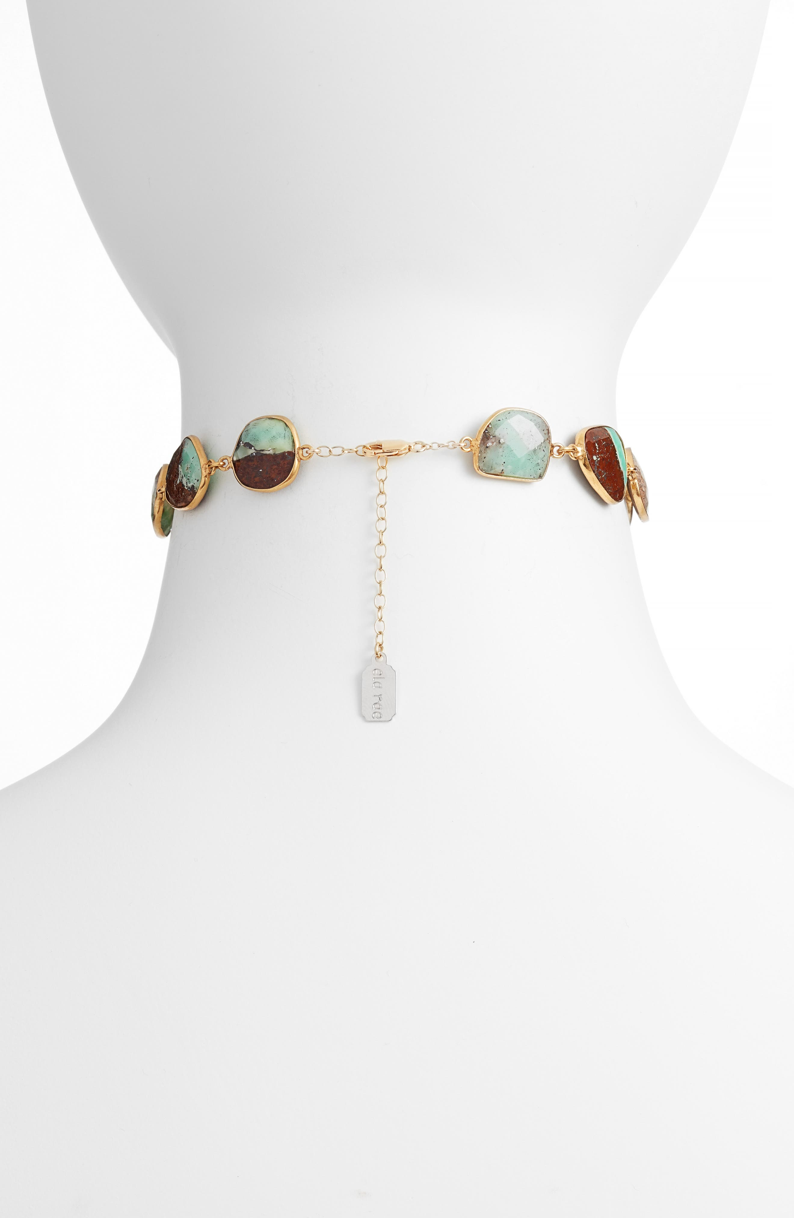 Sadie Collar Necklace,                             Alternate thumbnail 2, color,                             Chrysophase
