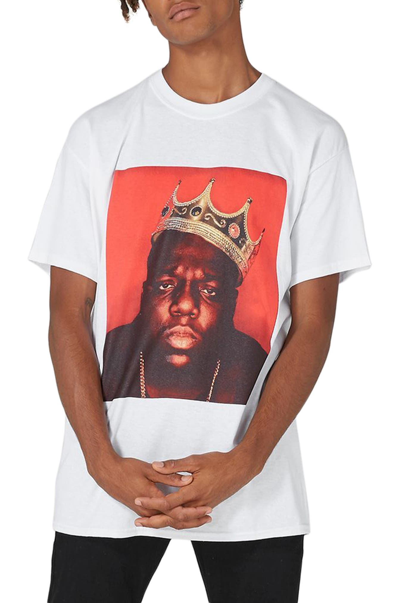 Alternate Image 1 Selected - Topman Biggie Crown T-Shirt
