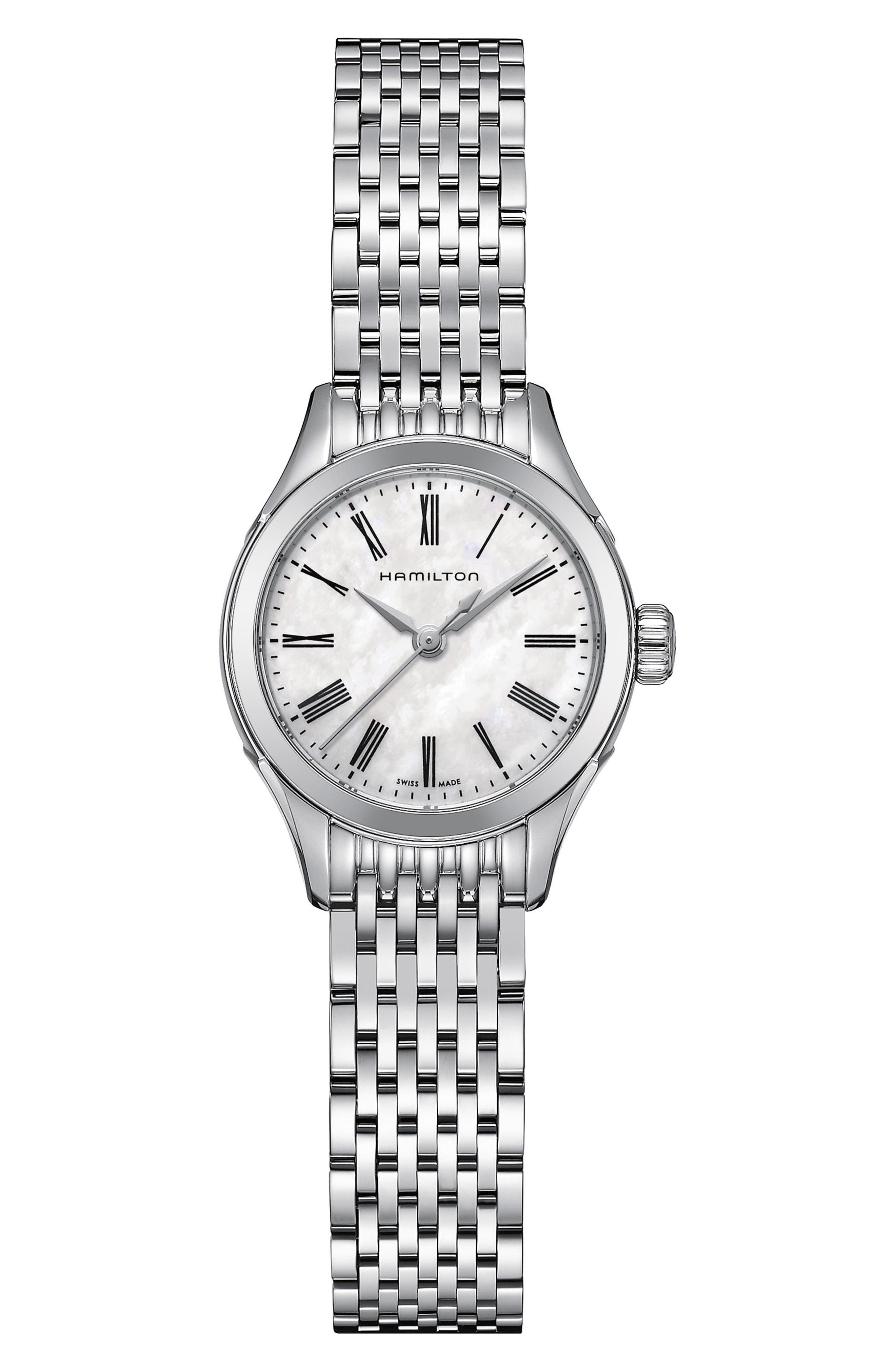 HAMILTON Valiant Bracelet Watch, 26mm