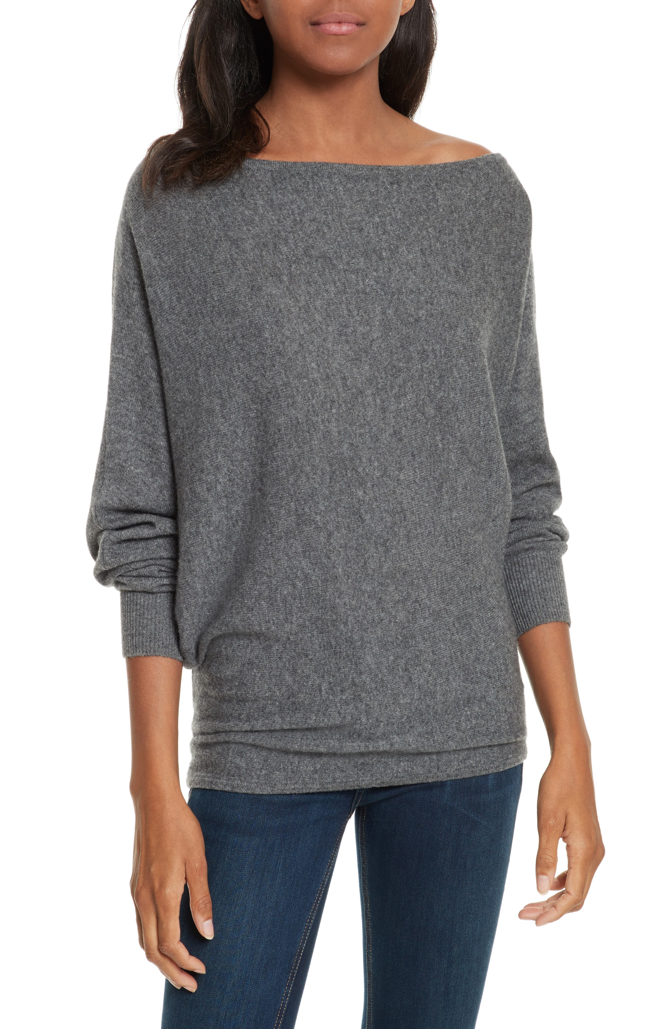 Joie Helice Convertible Cashmere Sweater