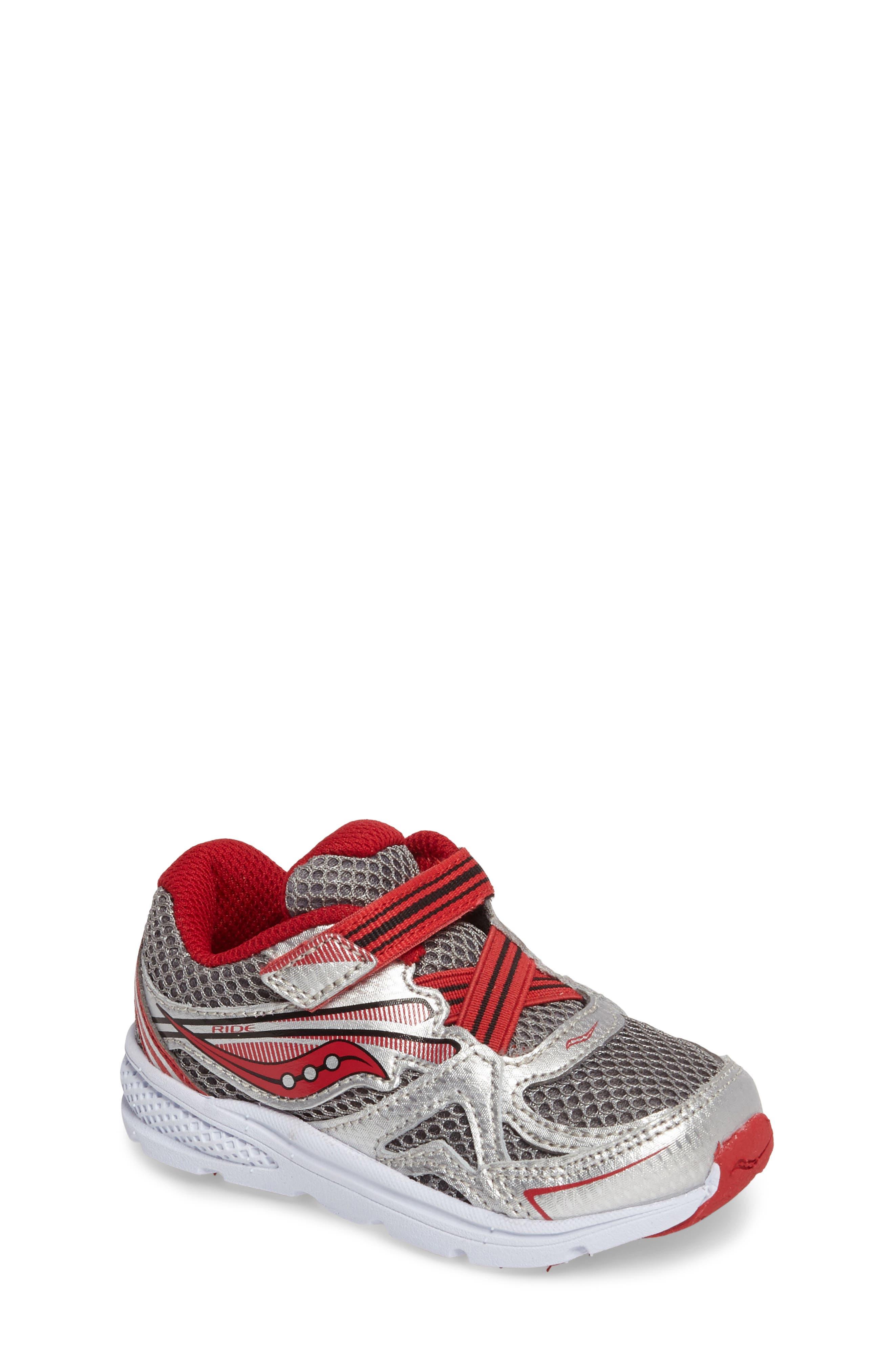 Saucony 'Ride' Sneaker (Baby, Walker & Toddler)