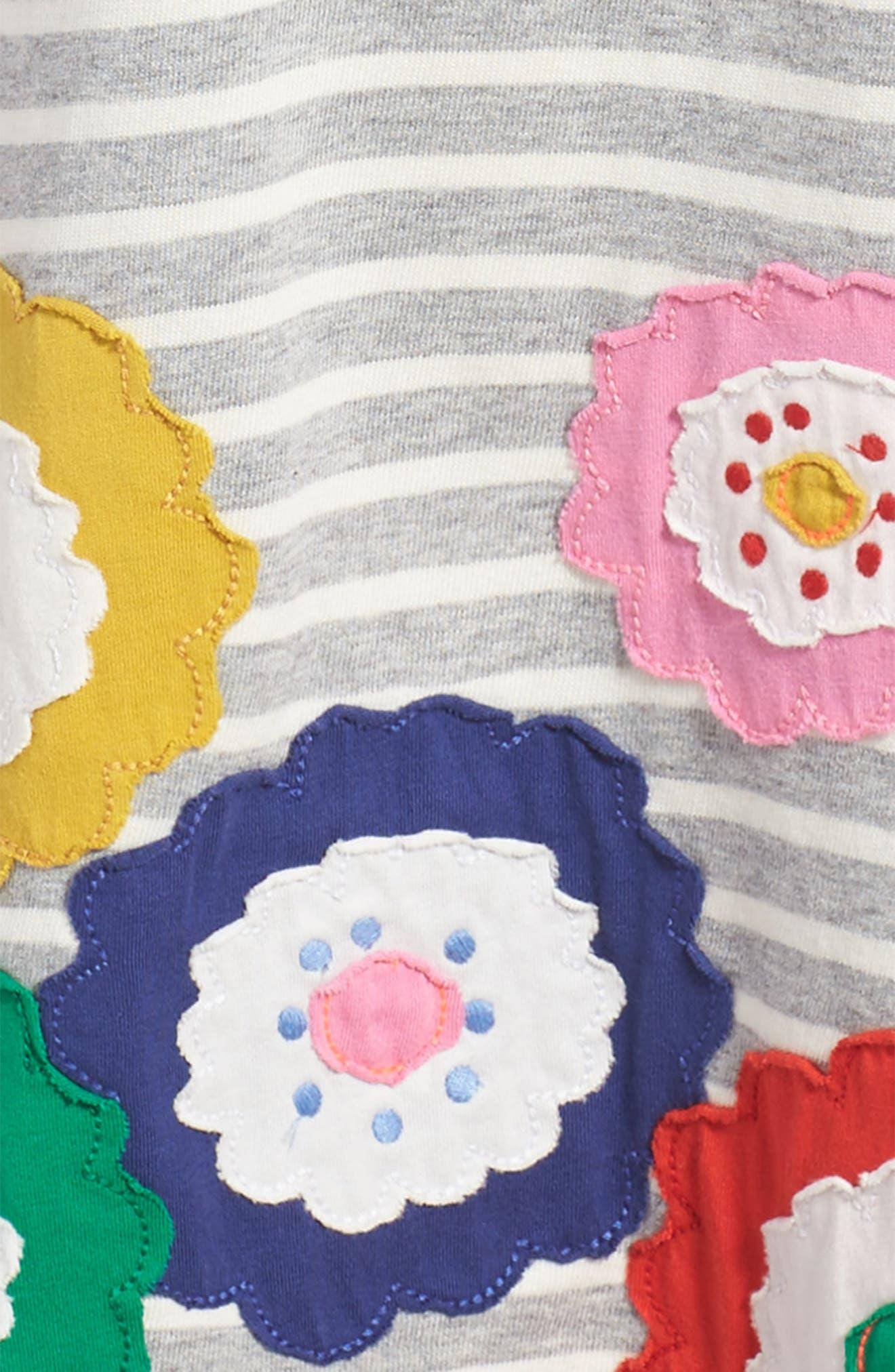 Alternate Image 3  - Mini Boden Fun Appliqué Jersey Dress (Toddler Girls, Little Girls & Big Girls)