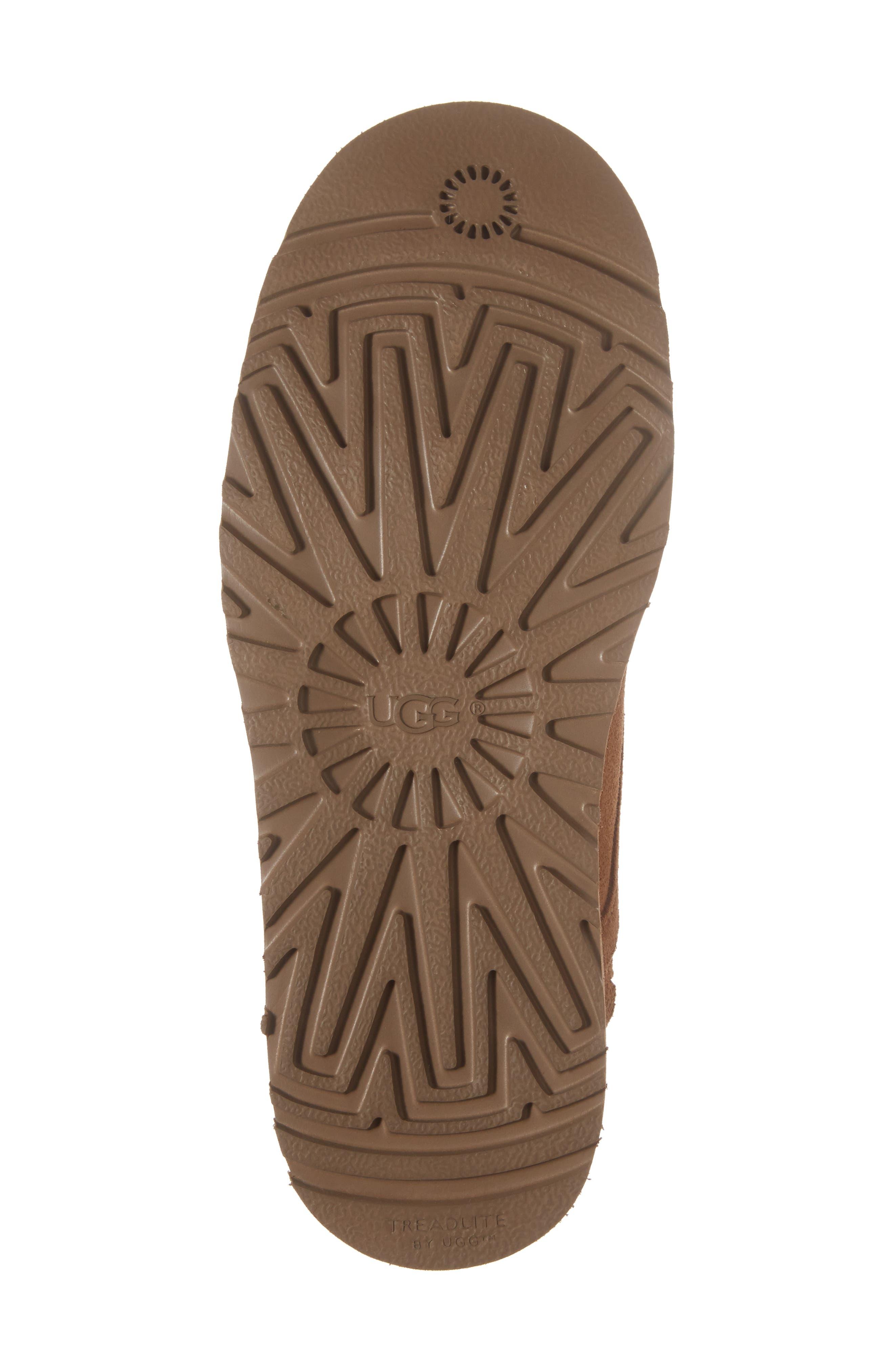 Alternate Image 6  - UGG® Banan Water-Resistant Genuine Shearling Boot (Little Kid & Big Kid)