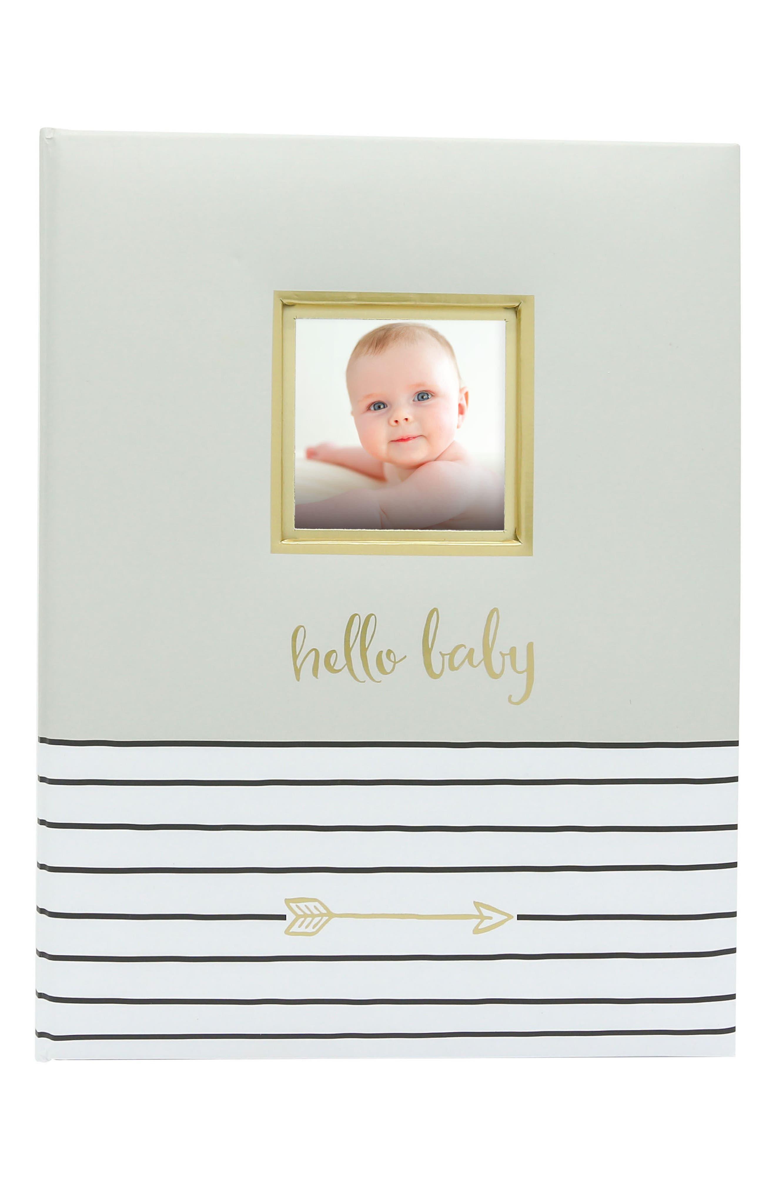 Pearhead Hello Baby Book