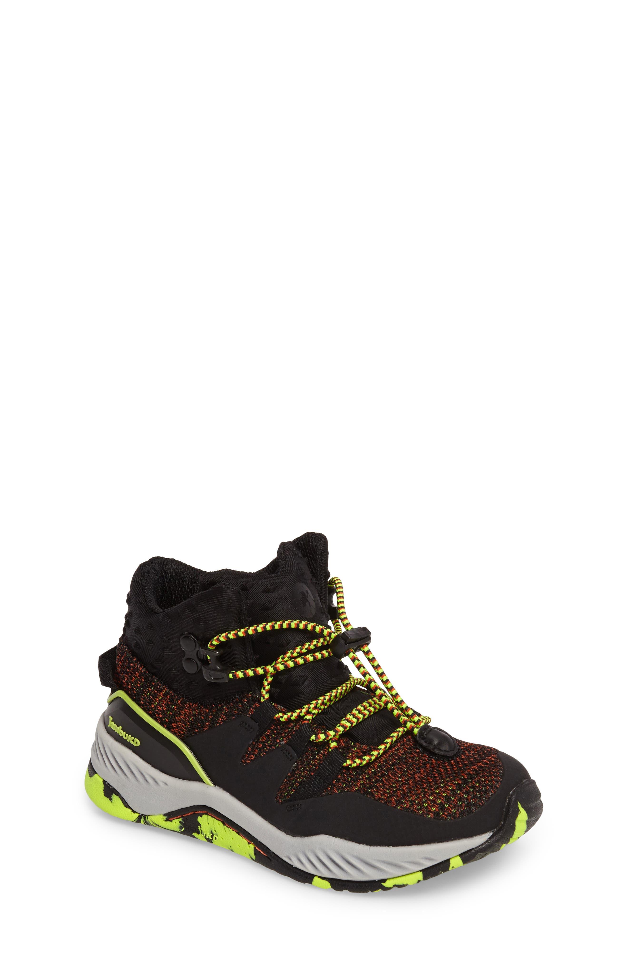 Armadillo Sneaker Boot,                             Main thumbnail 1, color,                             Black