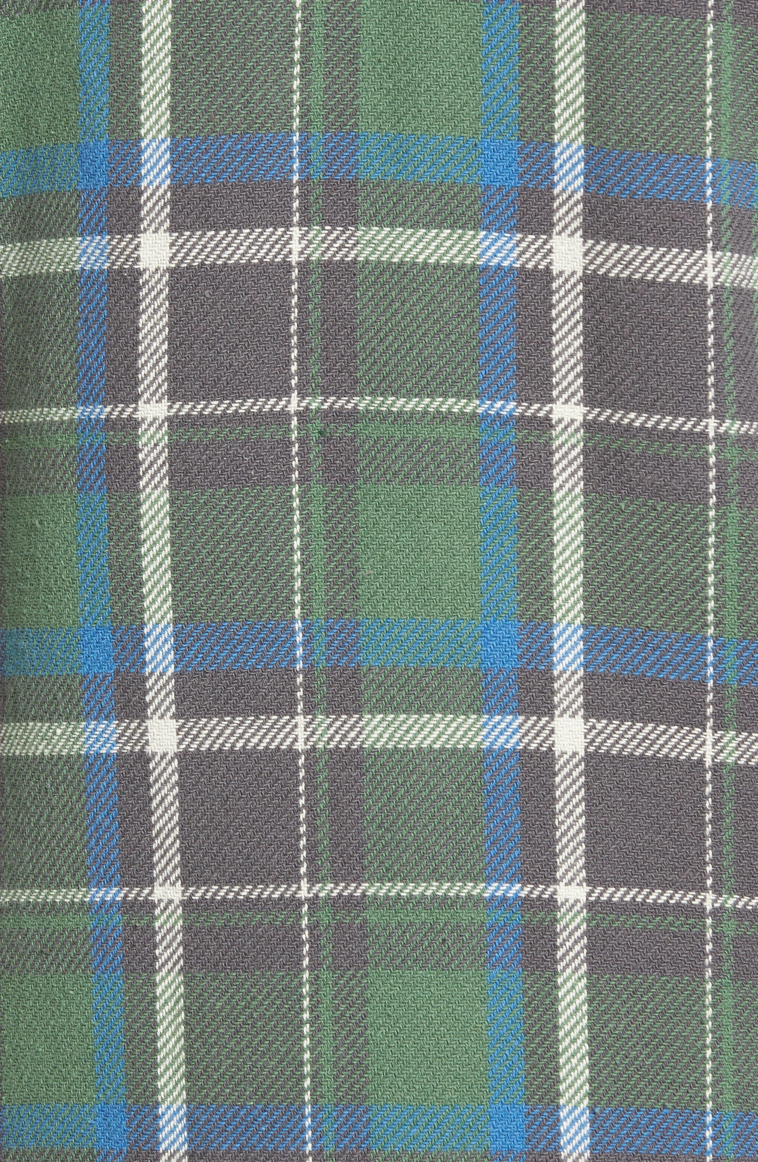 Alternate Image 5  - True Grit Summit Hunter Plaid Faux Shearling Lined Shirt Jacket