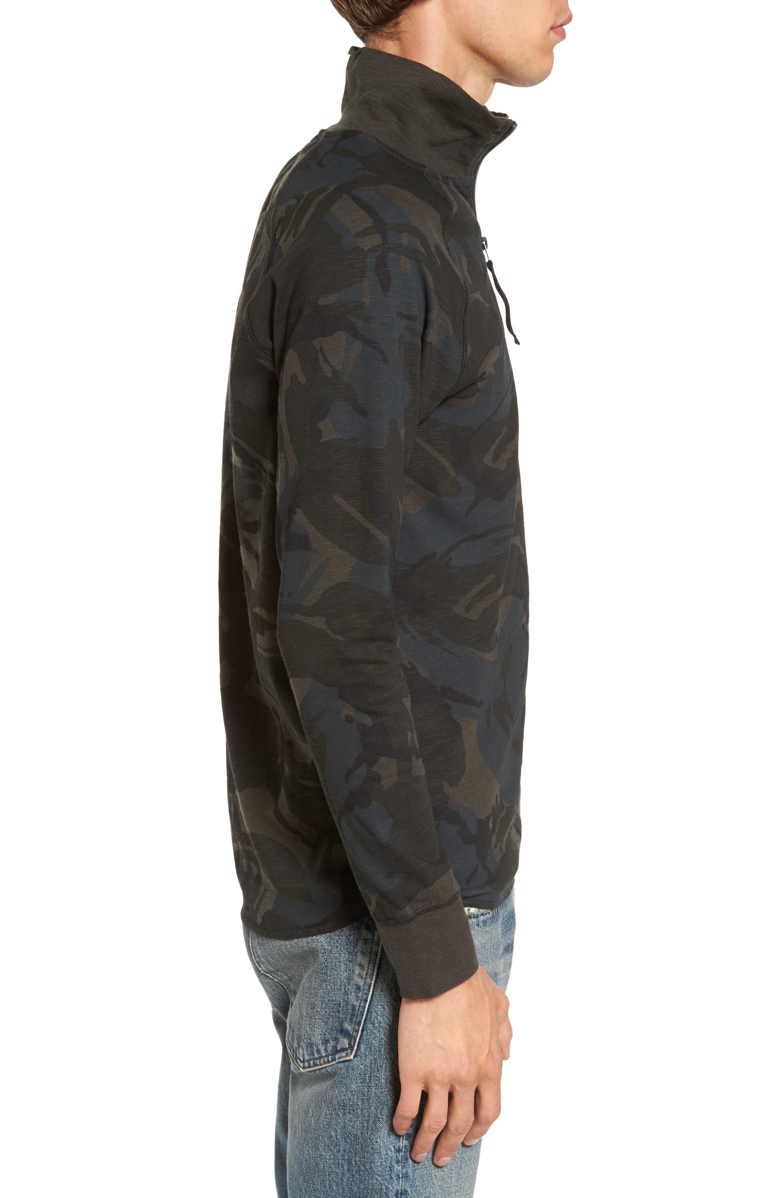 Jirgi Quarter Zip Jacket,                             Alternate thumbnail 3, color,                             Green