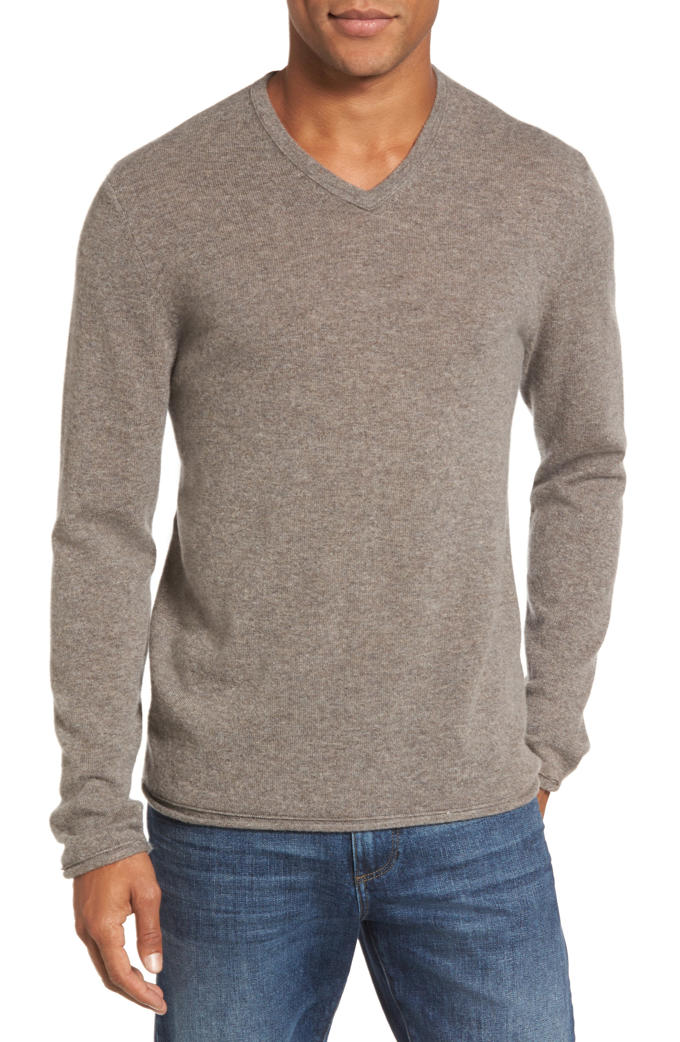James Perse Classic Cashmere V-Neck Sweater