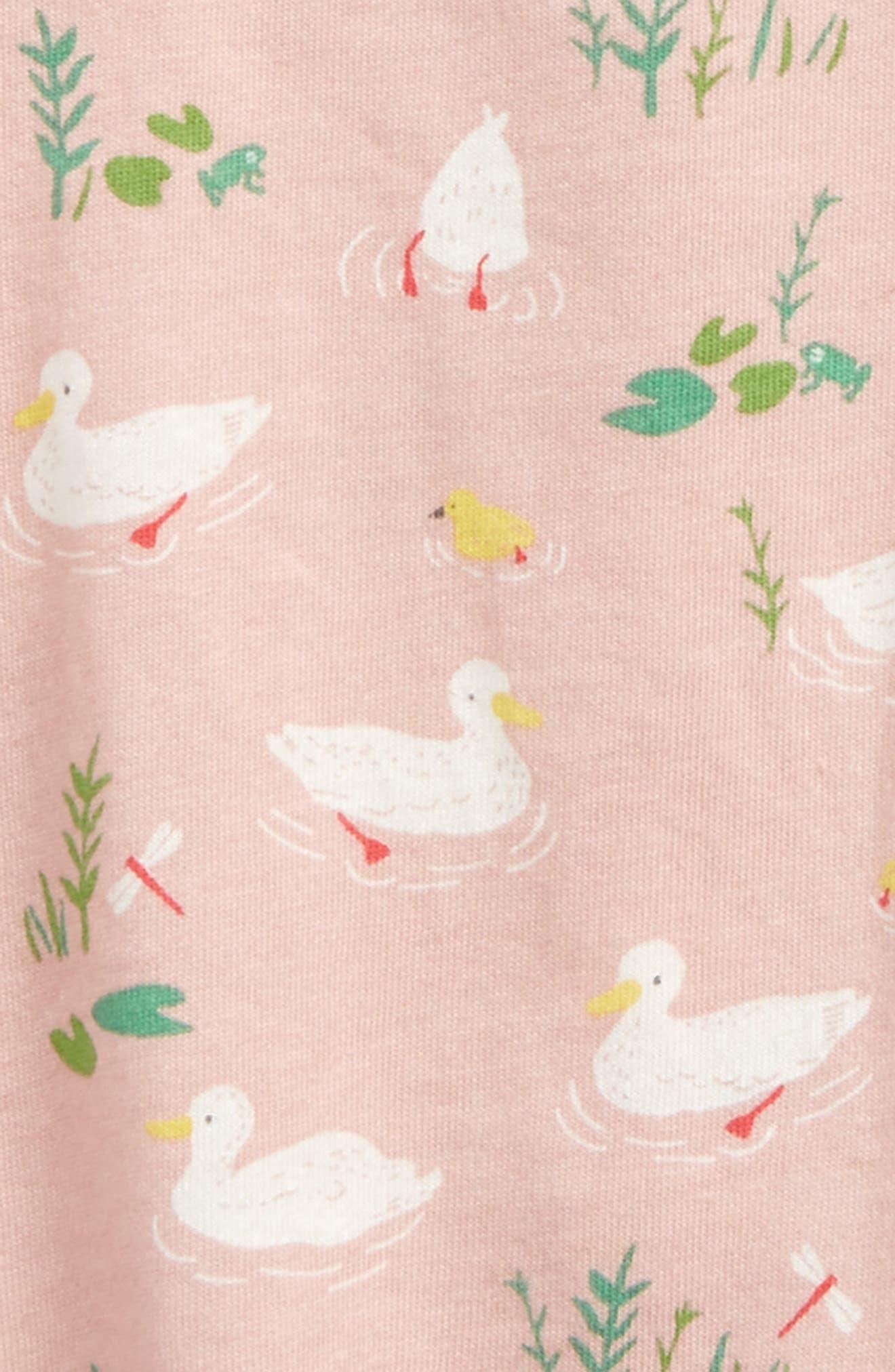 Alternate Image 2  - Mini Boden Pretty Print Jersey Dress (Baby Girls & Toddler Girls)
