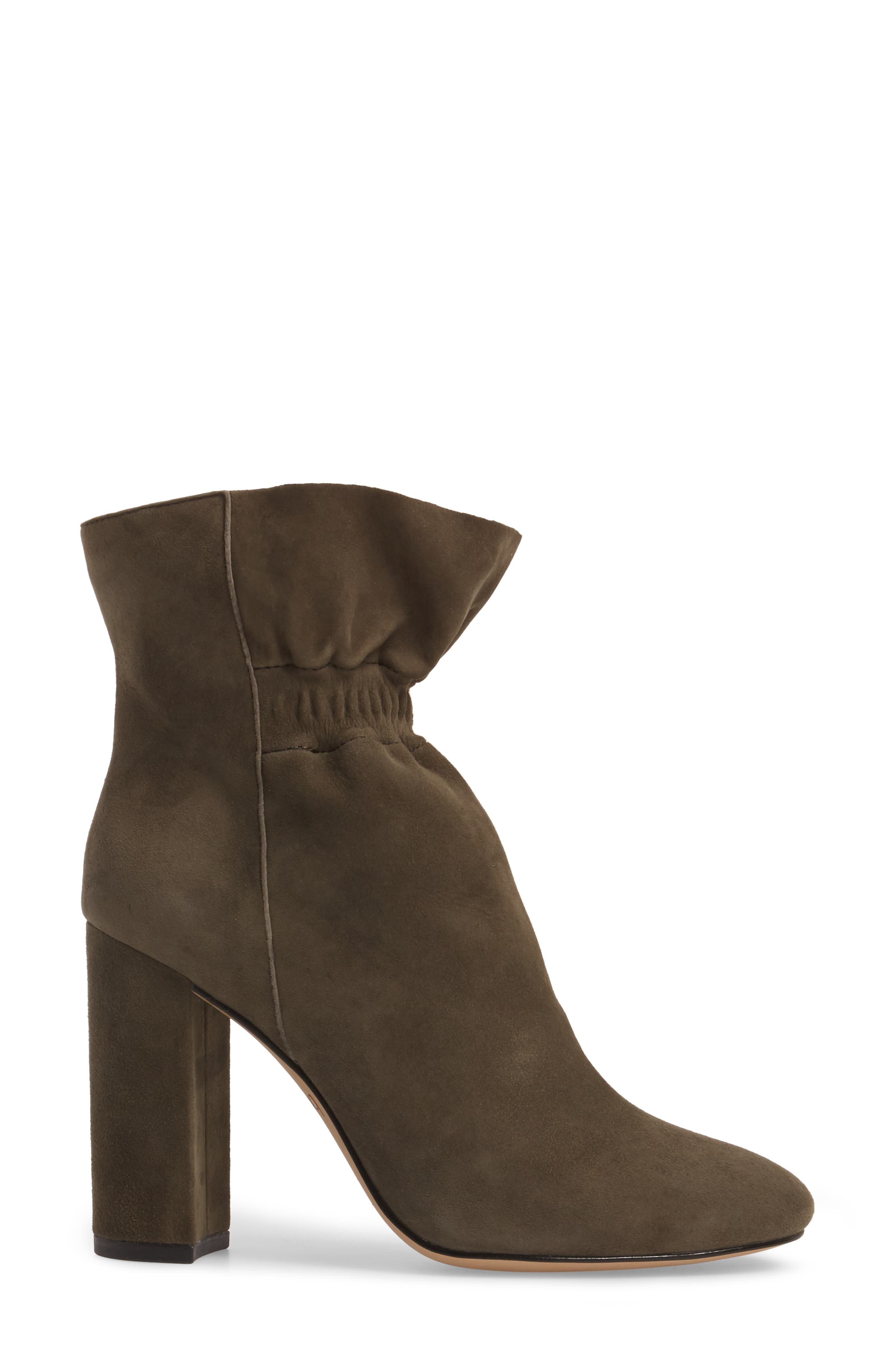 Rylie Boot,                             Alternate thumbnail 3, color,                             Moss Suede