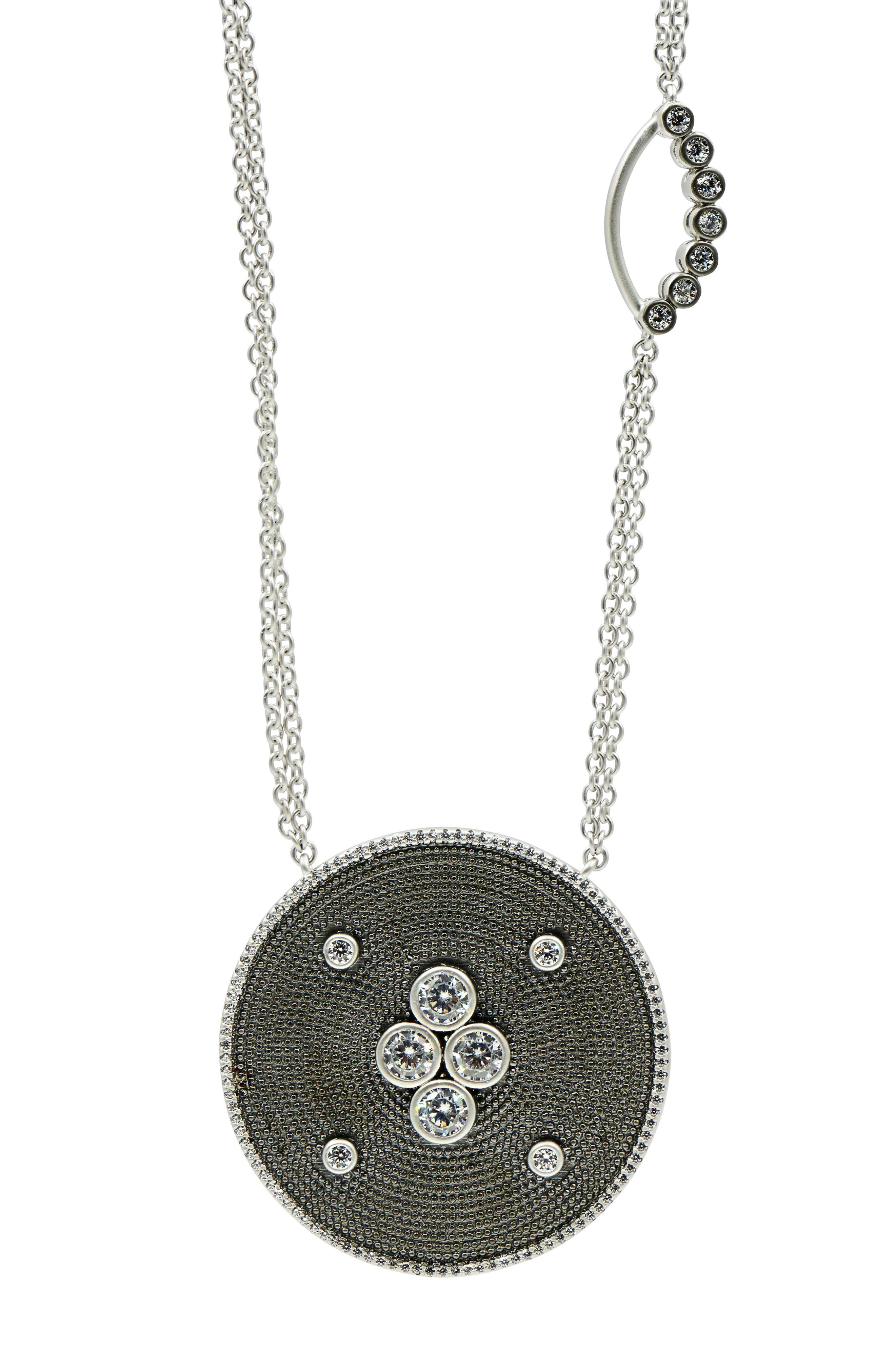 Alternate Image 5  - FREIDA ROTHMAN Industrial Finish Pendant Necklace